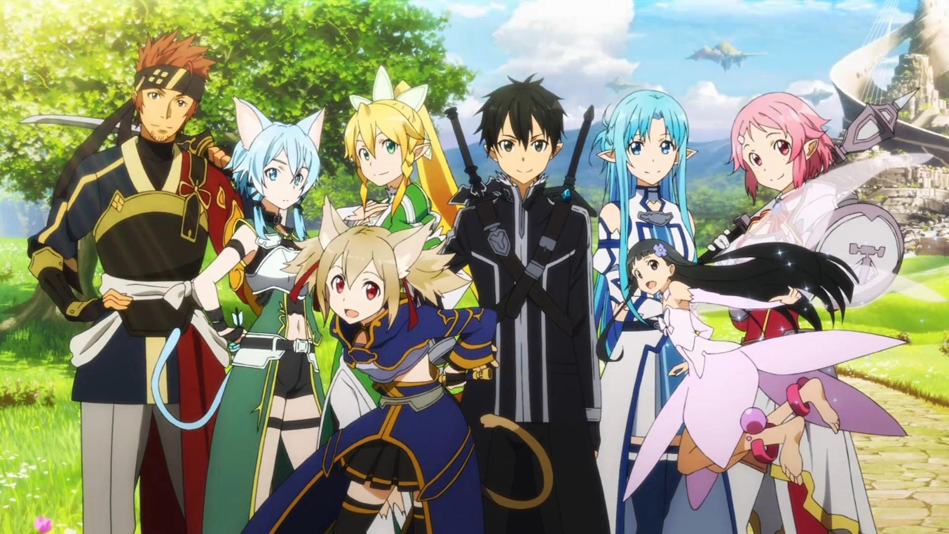 1920x1080 Sword Art Online HD Wallpaper 1920A 1080