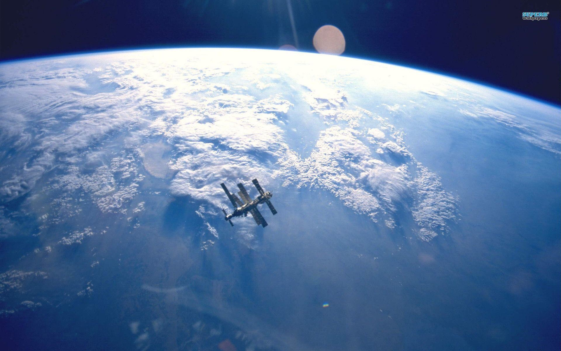 1920x1200 International Space Station wallpaper - Space wallpapers - #10554