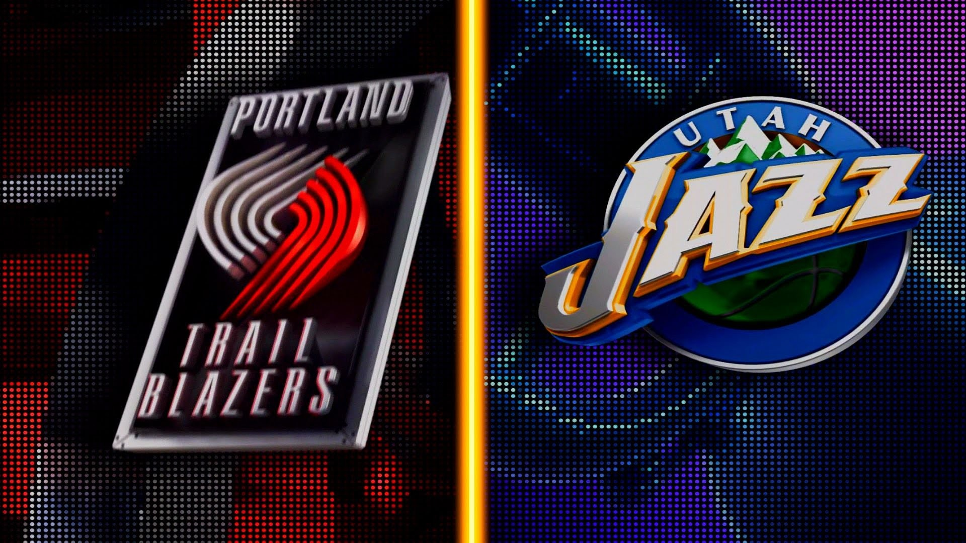 1920x1080 PS4: NBA 2K16 - Portland Trail Blazers vs. Utah Jazz [1080p 60 FPS] -  YouTube