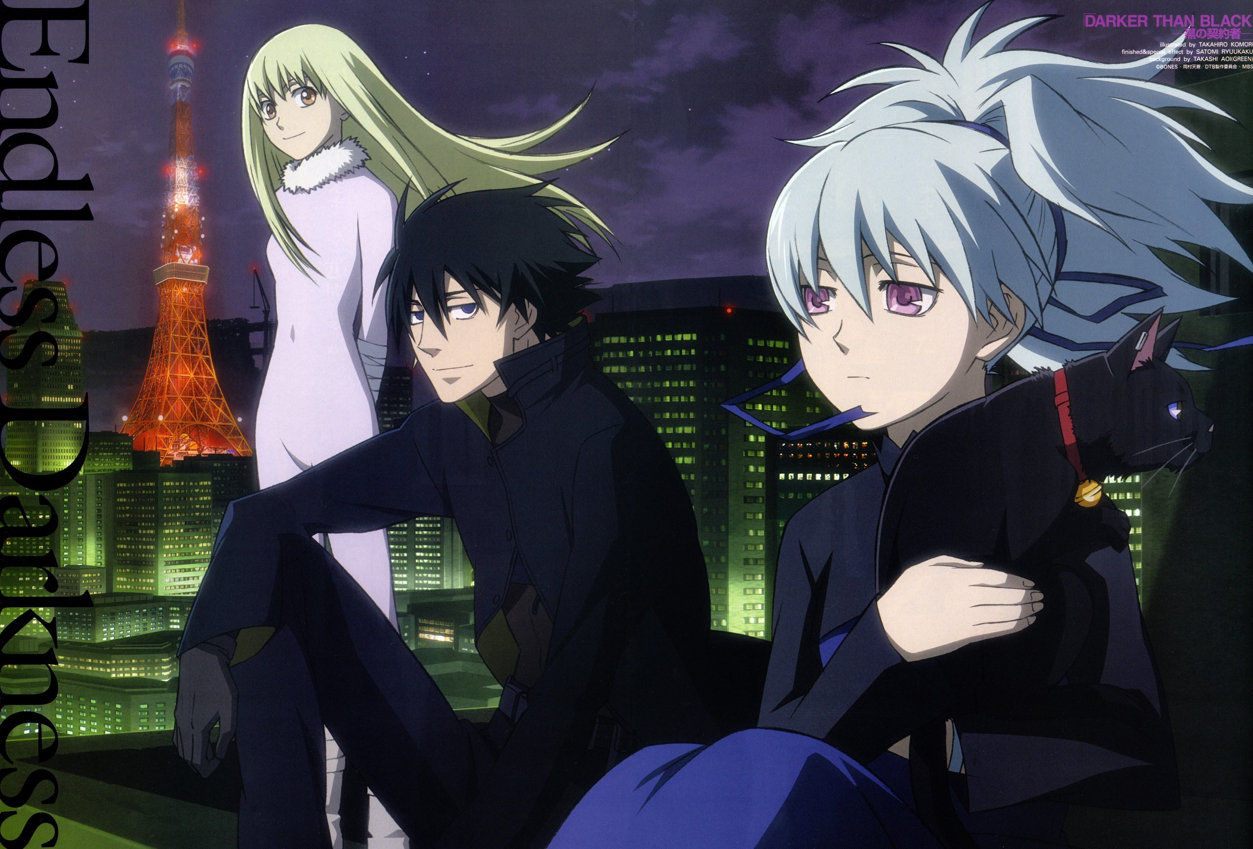 2561x1736  HD Wallpaper | Background ID:217009.  Anime Darker Than  Black. 2 Like