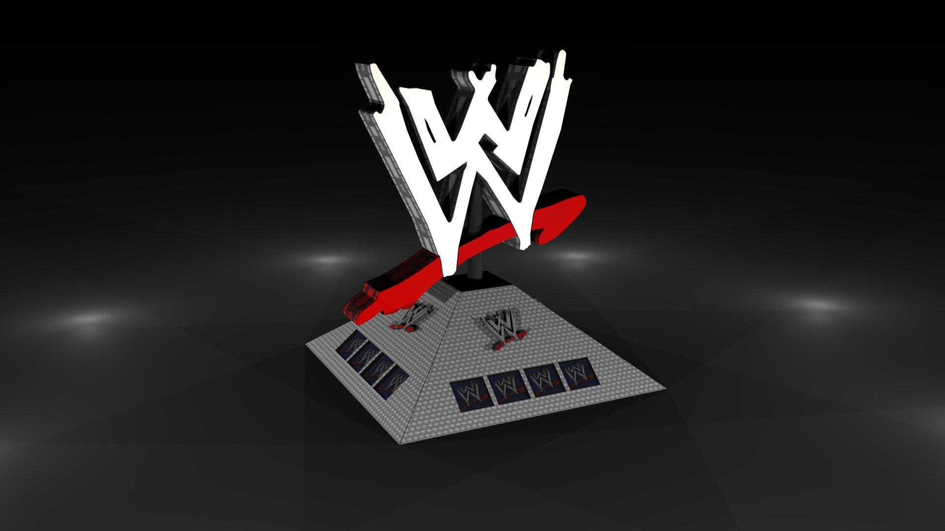 1920x1080 Wwe Logo Wallpaper HD download.