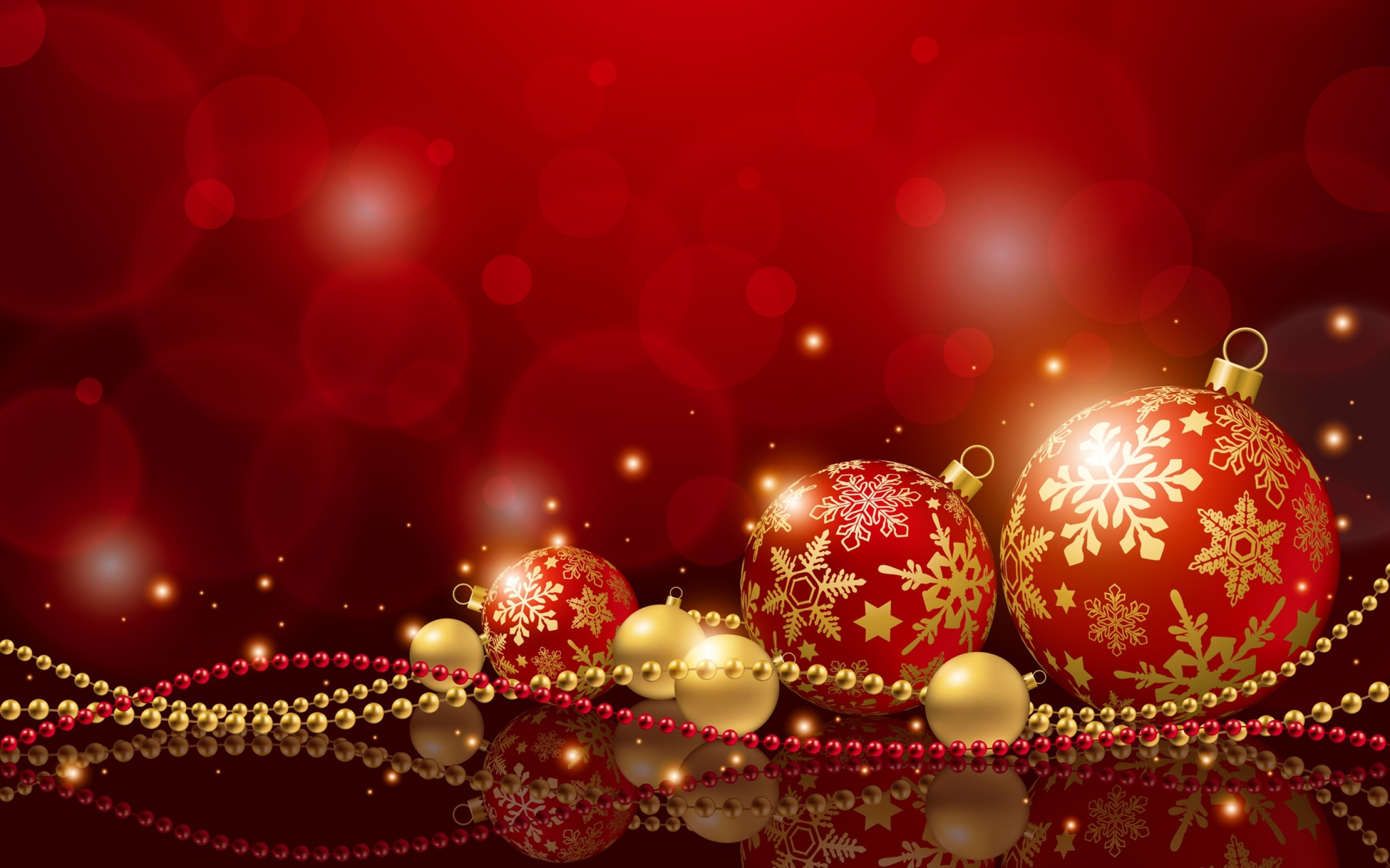 2560x1600 New Year Christmas Holiday