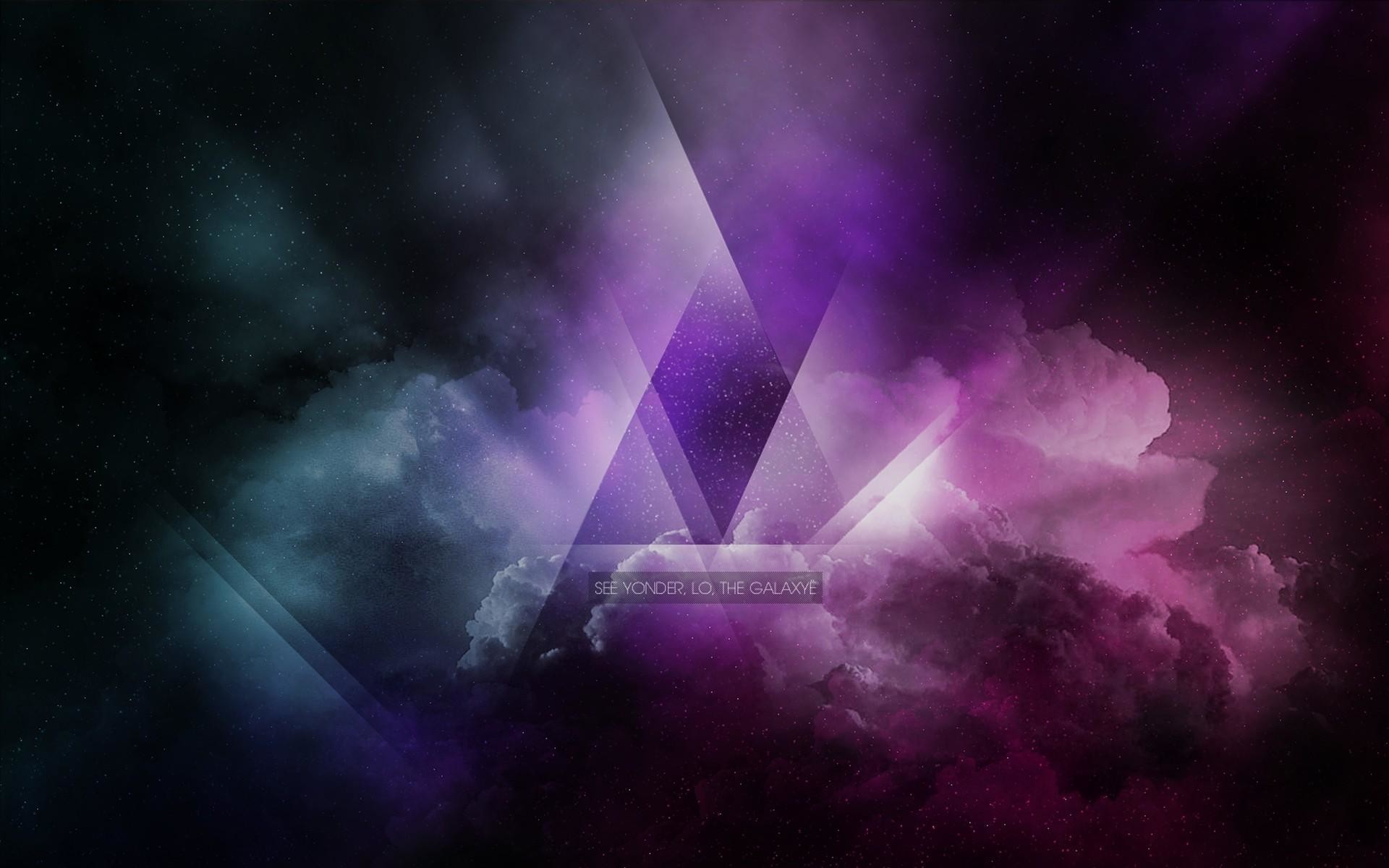 1920x1200 Galaxy-triangle-high-resolution-wallpapers