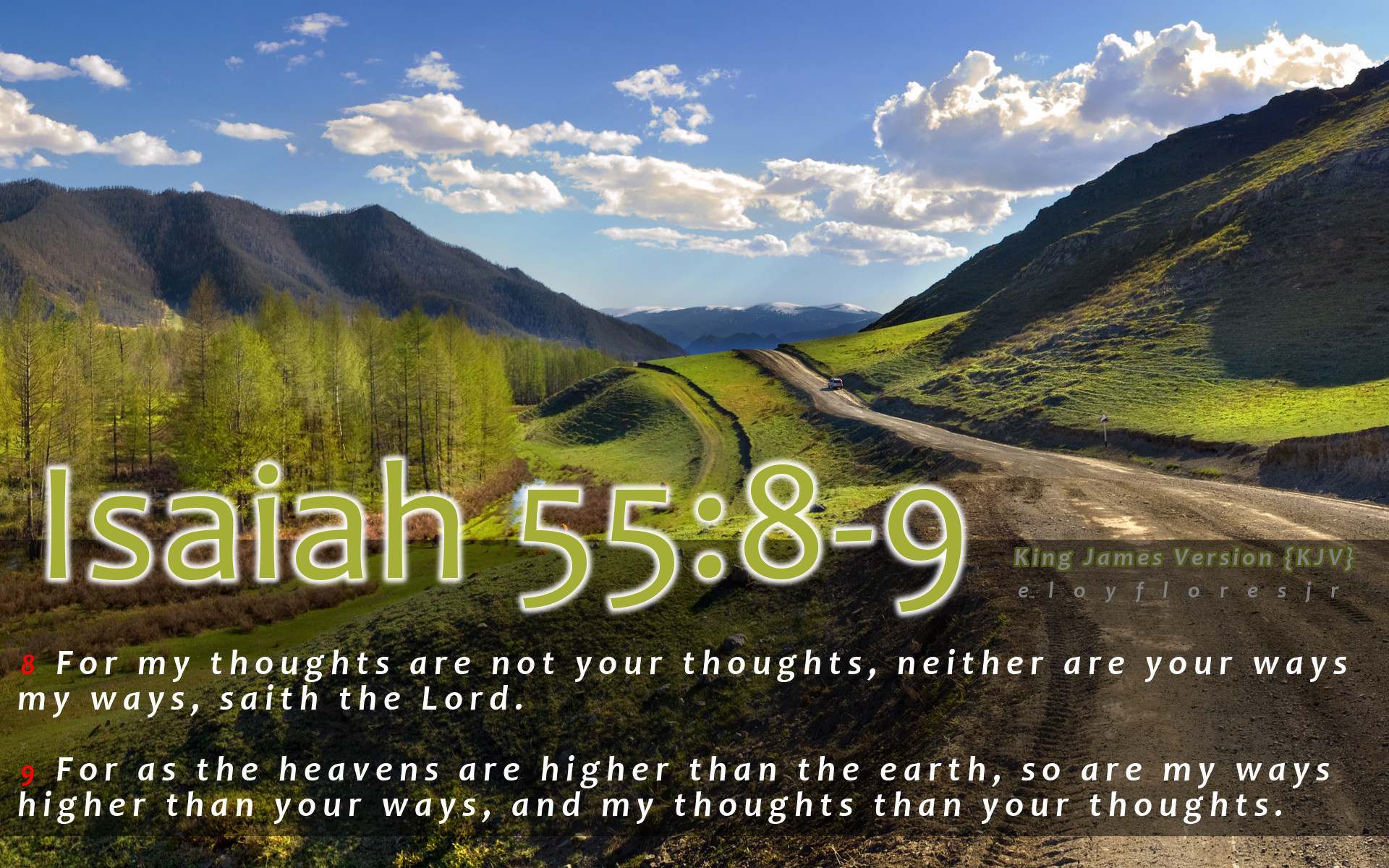1920x1200 Kjv Bible Verse Wallpaper New isaiah 55 8 9 Kjv Bible Verse Background Hd  Wallpaper