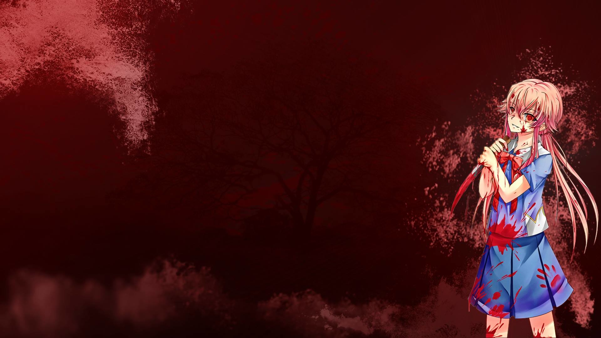 1920x1080 Yuno Gasai Wallpaper Yuno gasai future diary by