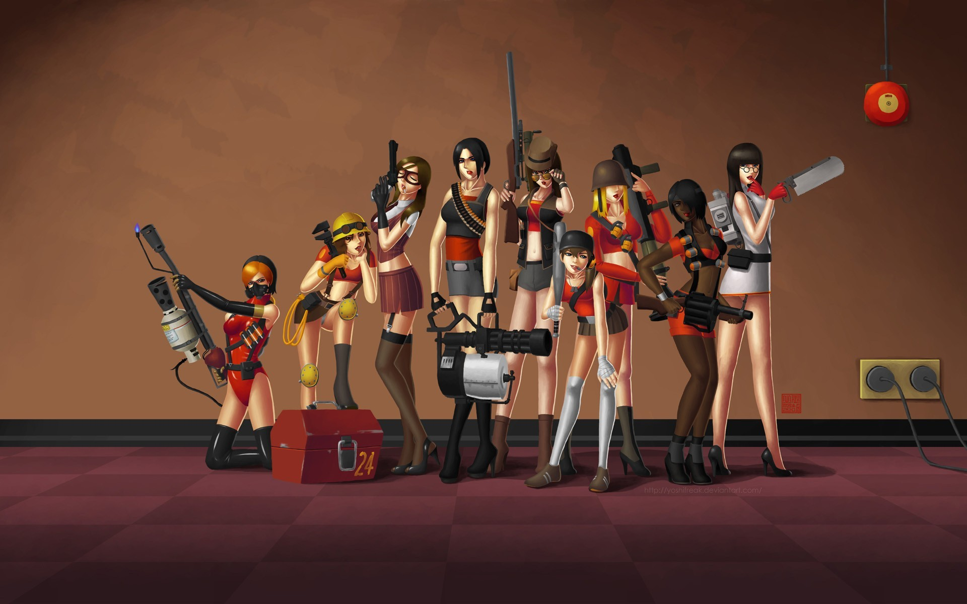 1920x1200 330 Team Fortress 2 HD Wallpapers | Backgrounds - Wallpaper Abyss