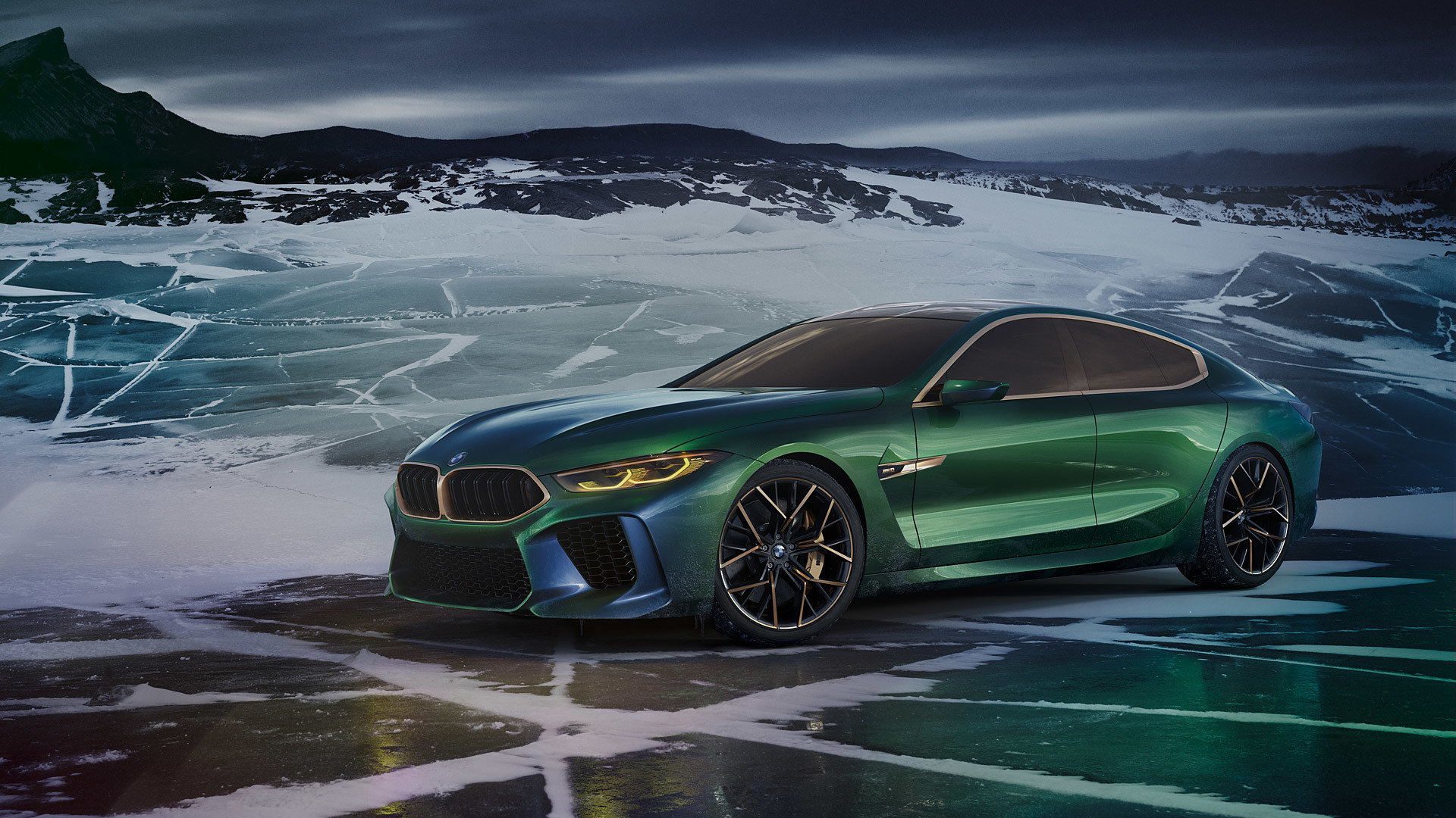 1920x1080 2018 BMW M8 Gran Coupe Concept picture.