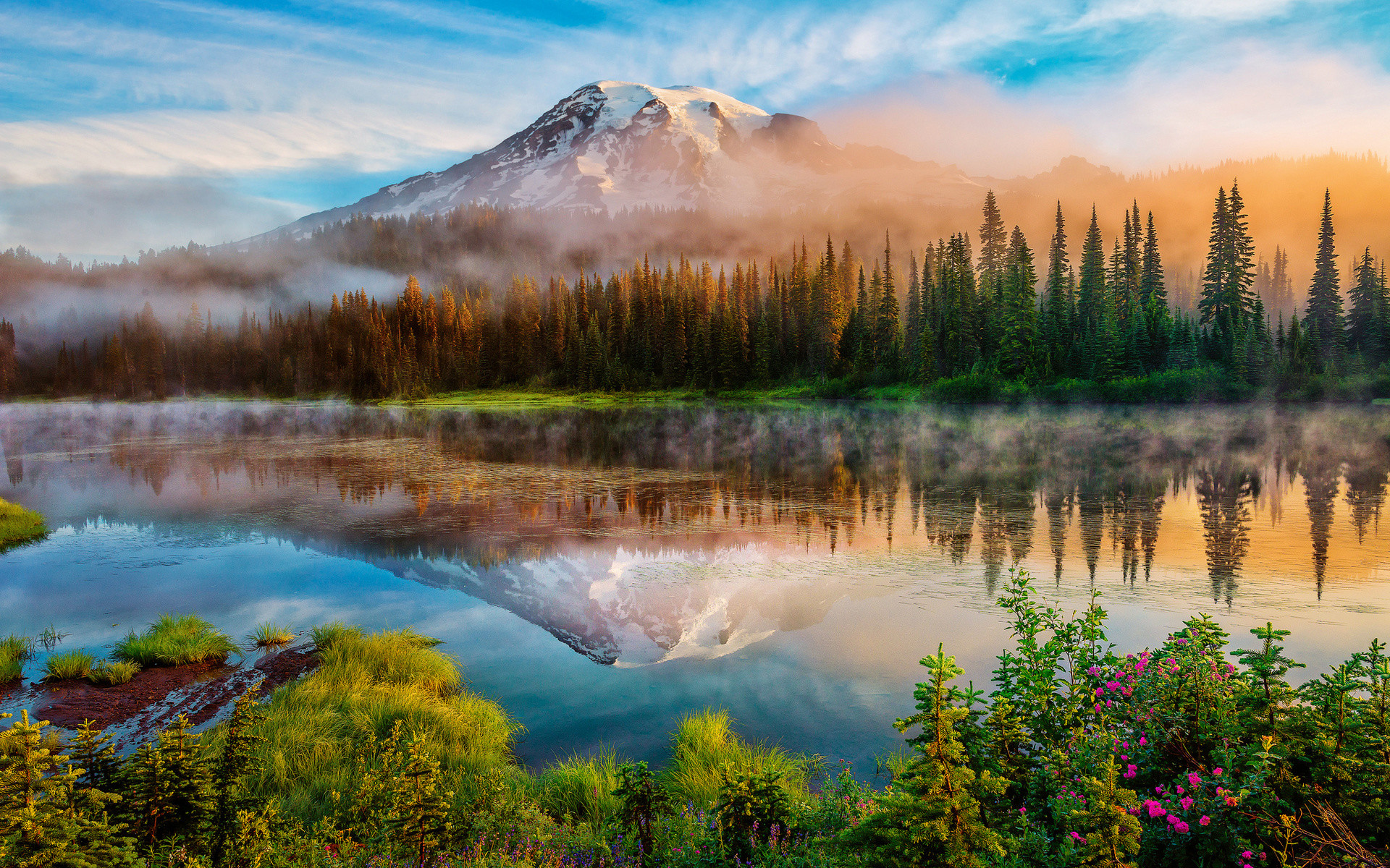 1920x1200 1080P HD Wallpapers Landscape | ... Wallpapers 2 IwHD.info 300x187  washington mountains