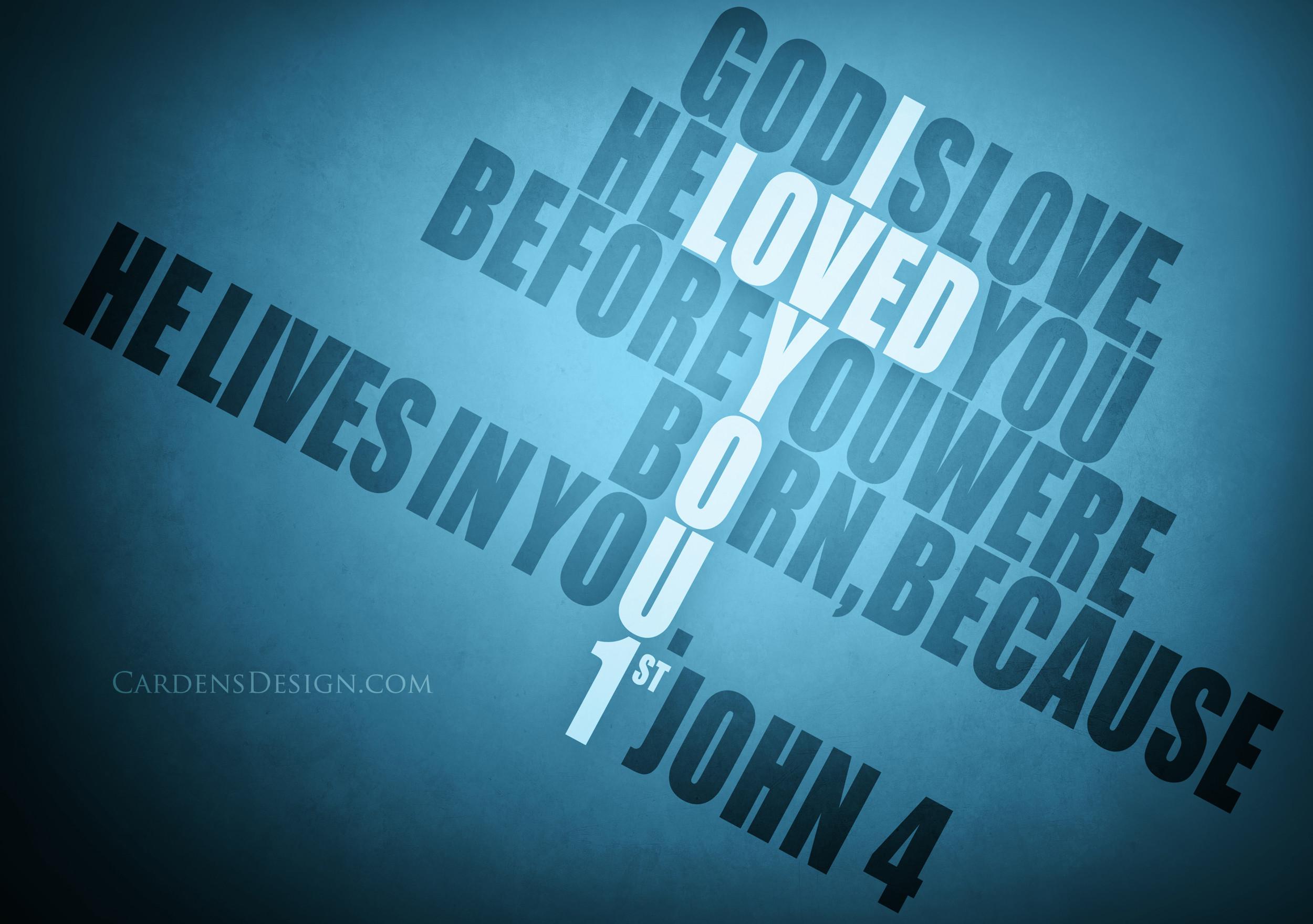 God Is Love Desktop Wallpaper 54 Images