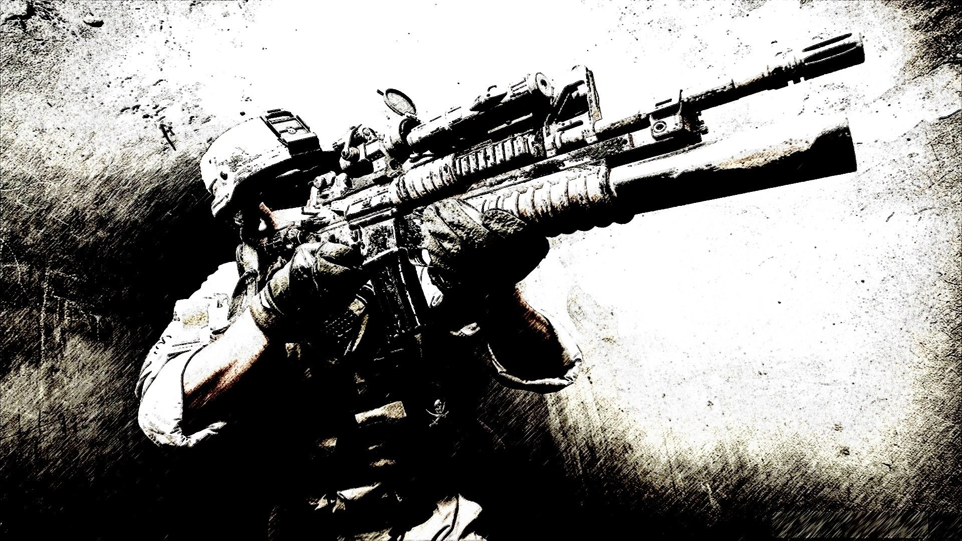 1920x1080 Military - Soldier Marine Wallpaper