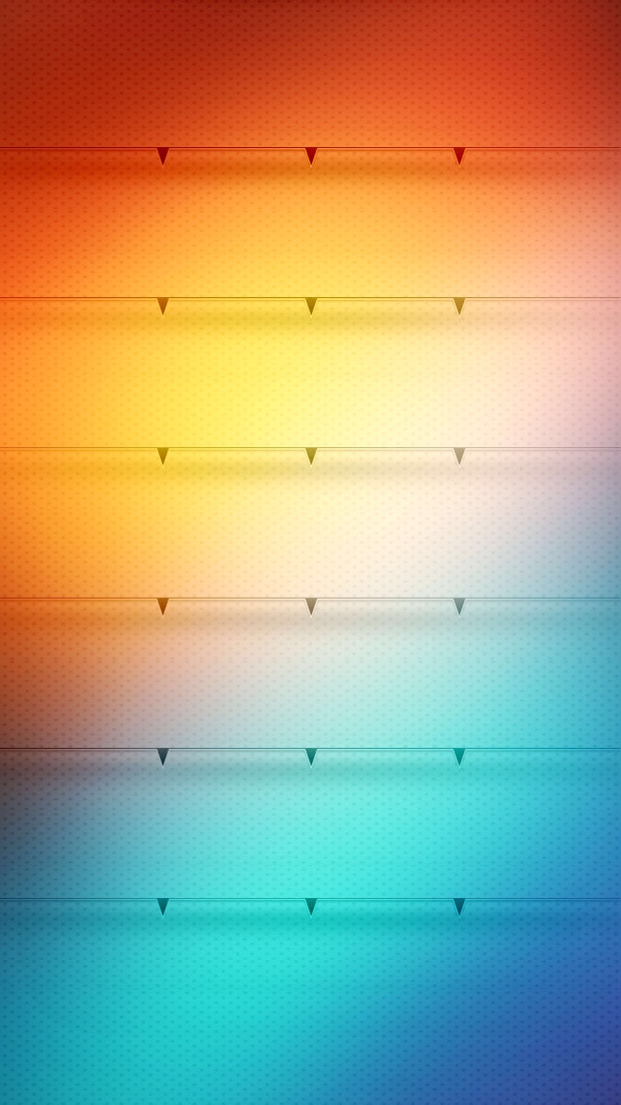 1242x2208 Shelves Stylish Colorful Gradient Ombre Bright HD