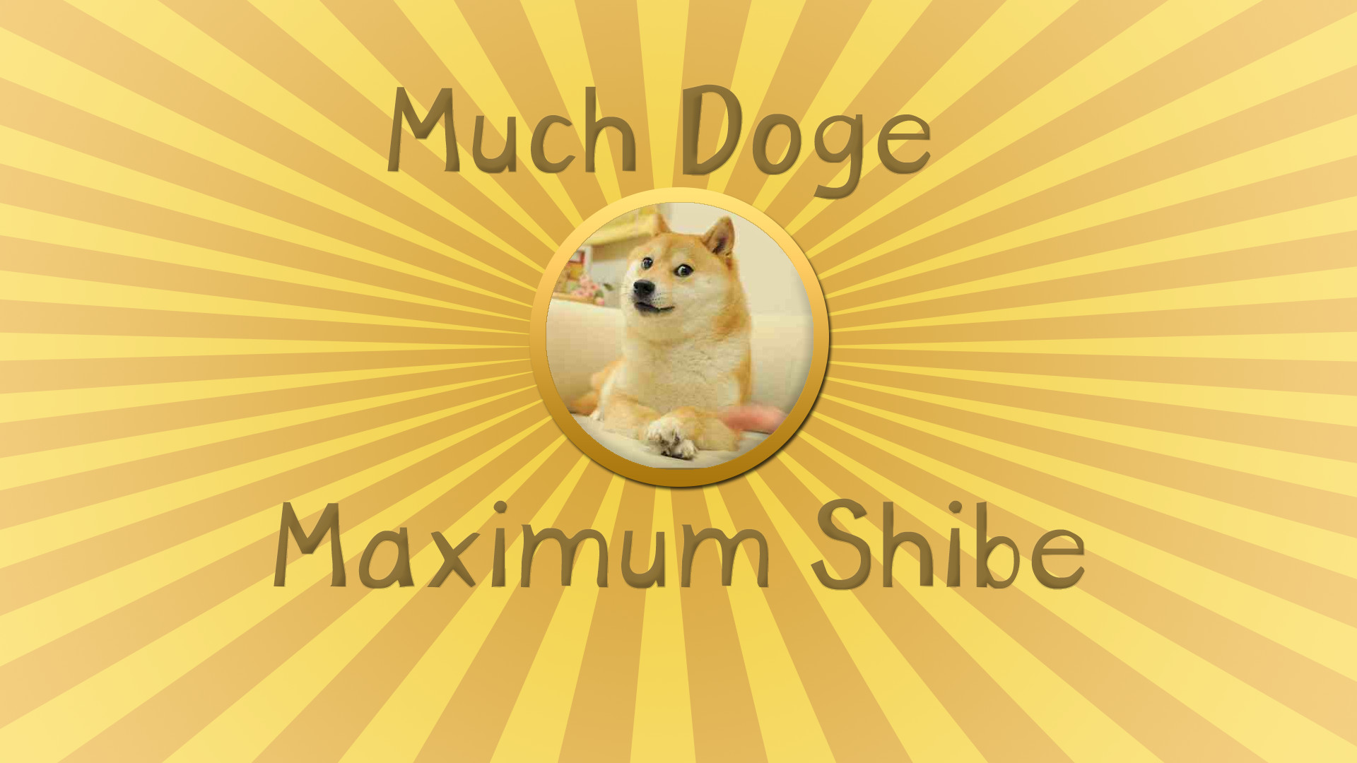 1920x1080 Doge Meme Wallpaper | Funny Cat & Dog Pictures