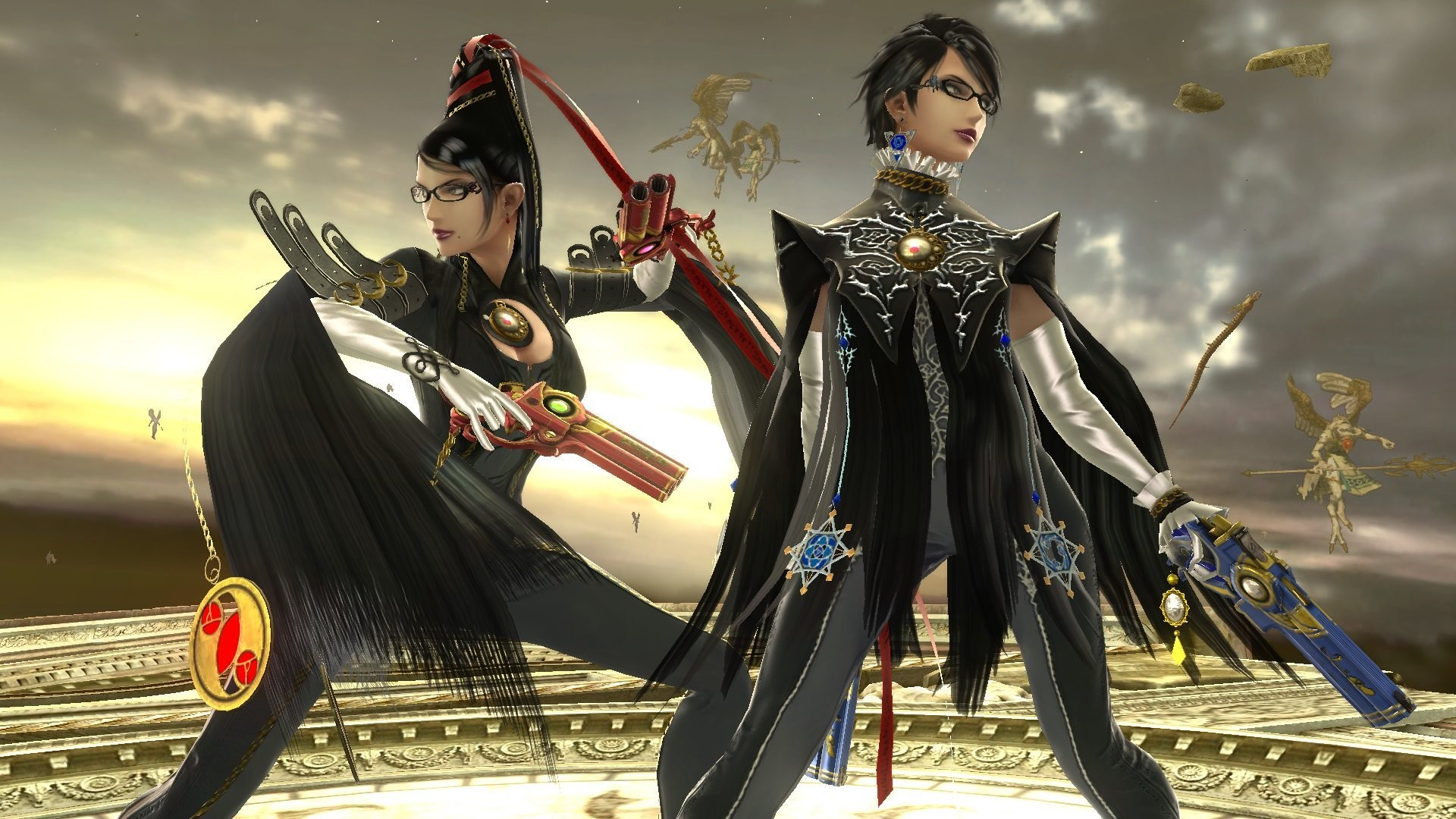 1920x1080 Bayonetta Dance-Off Backfires During Crucial Super Smash Bros. Match