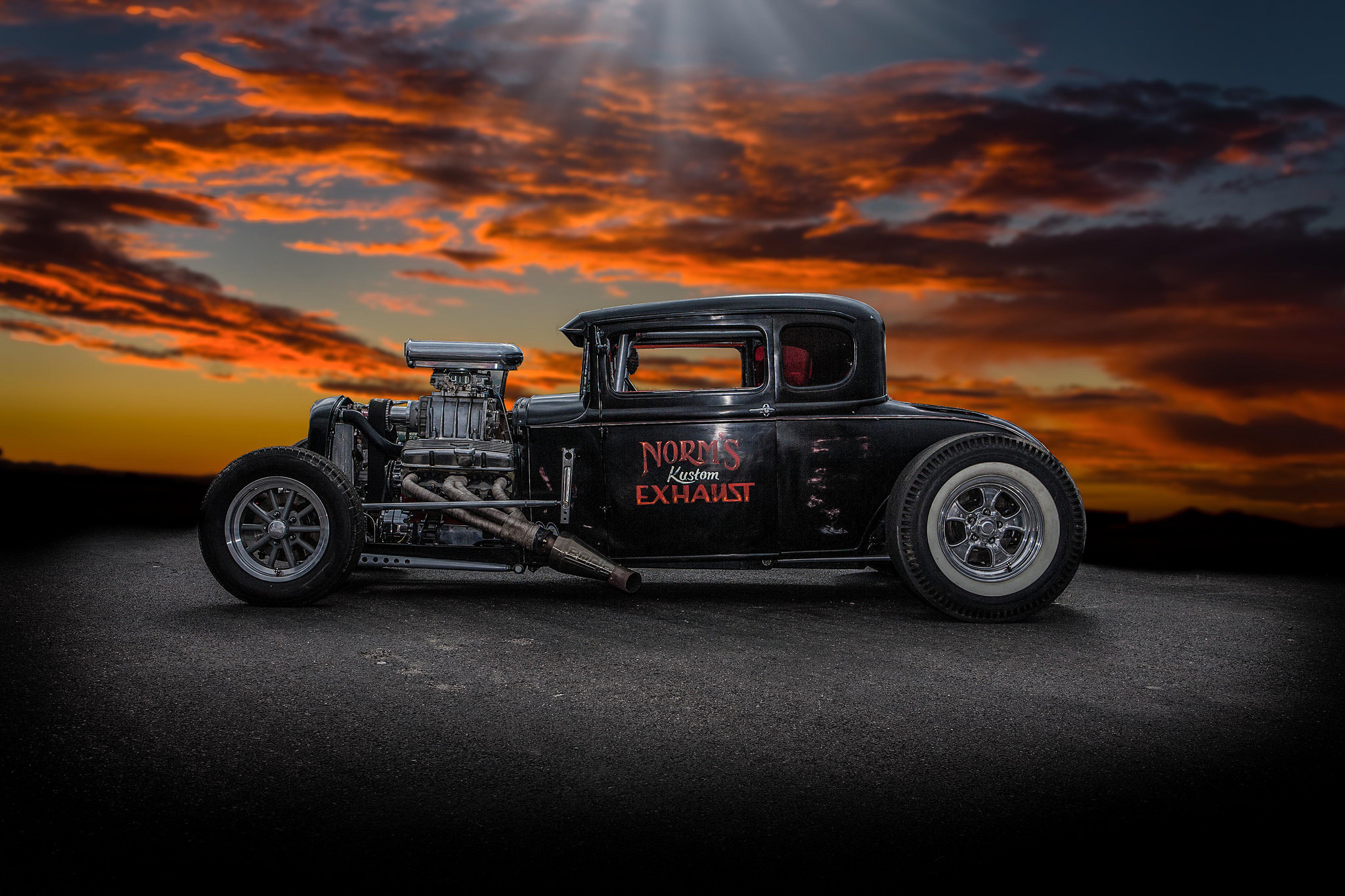 2048x1365 Vintage Hot Rod Wallpaper For Iphone for Desktop  px 832.20 KB