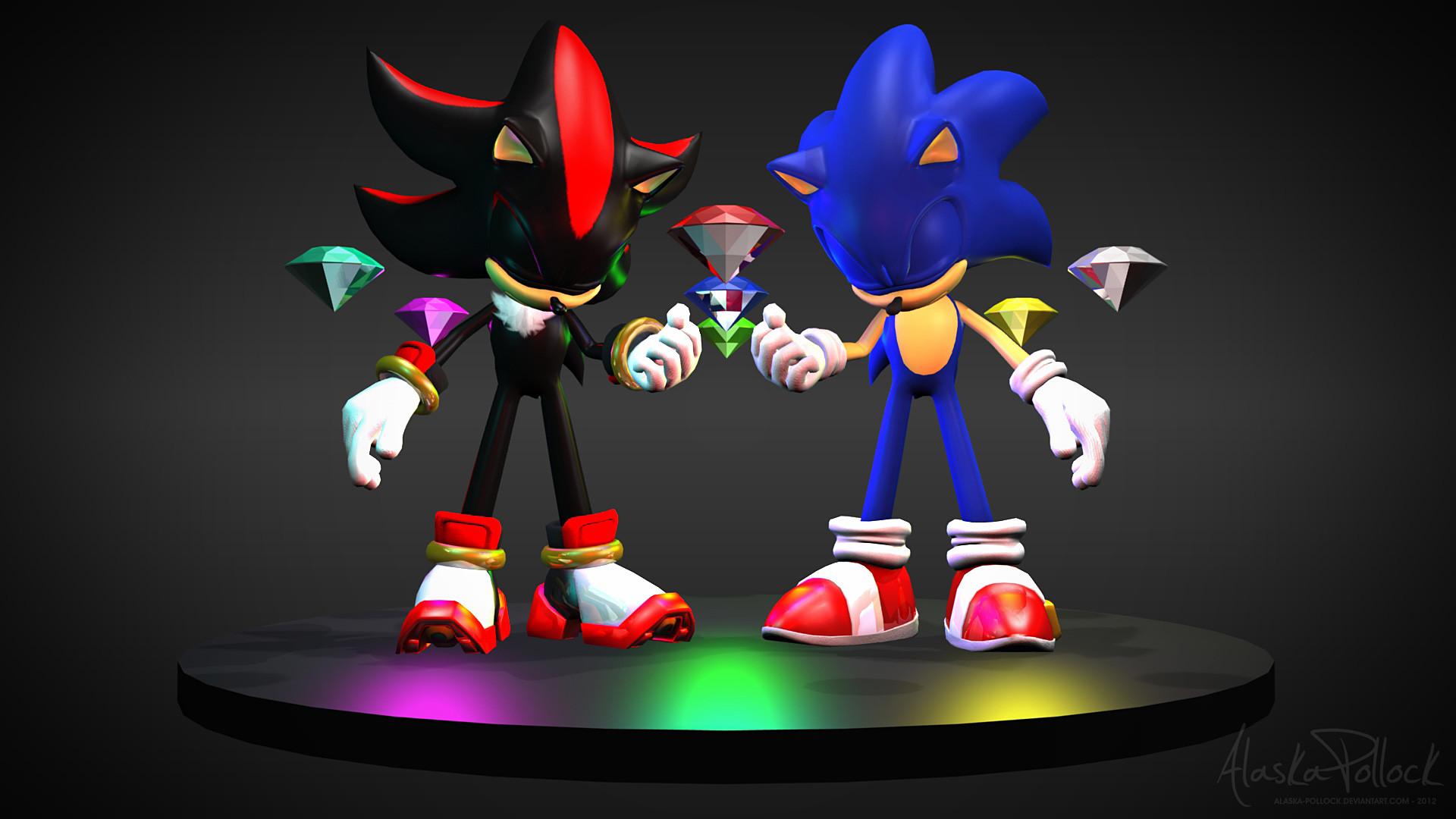 1920x1200 Sonic Adventure 2 Shadow Wallpaper By SonicTheHedgehogBG