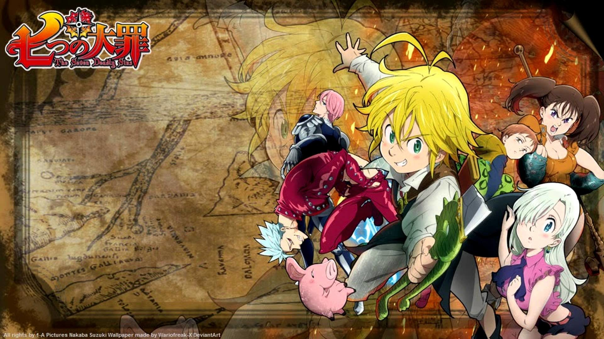 1920x1080 Nanatsu no Taizai OST Perfect Time [Remixed version] (Celtic rhythm only) -  YouTube
