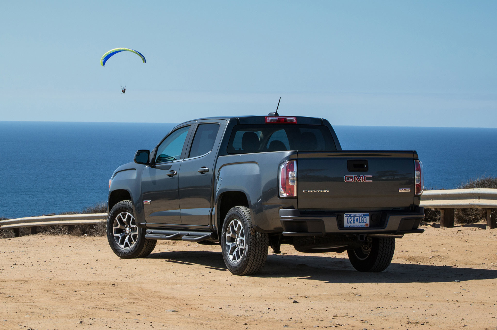 2048x1360 2016 GMC Canyon All Terrain Rear Three Quarter
