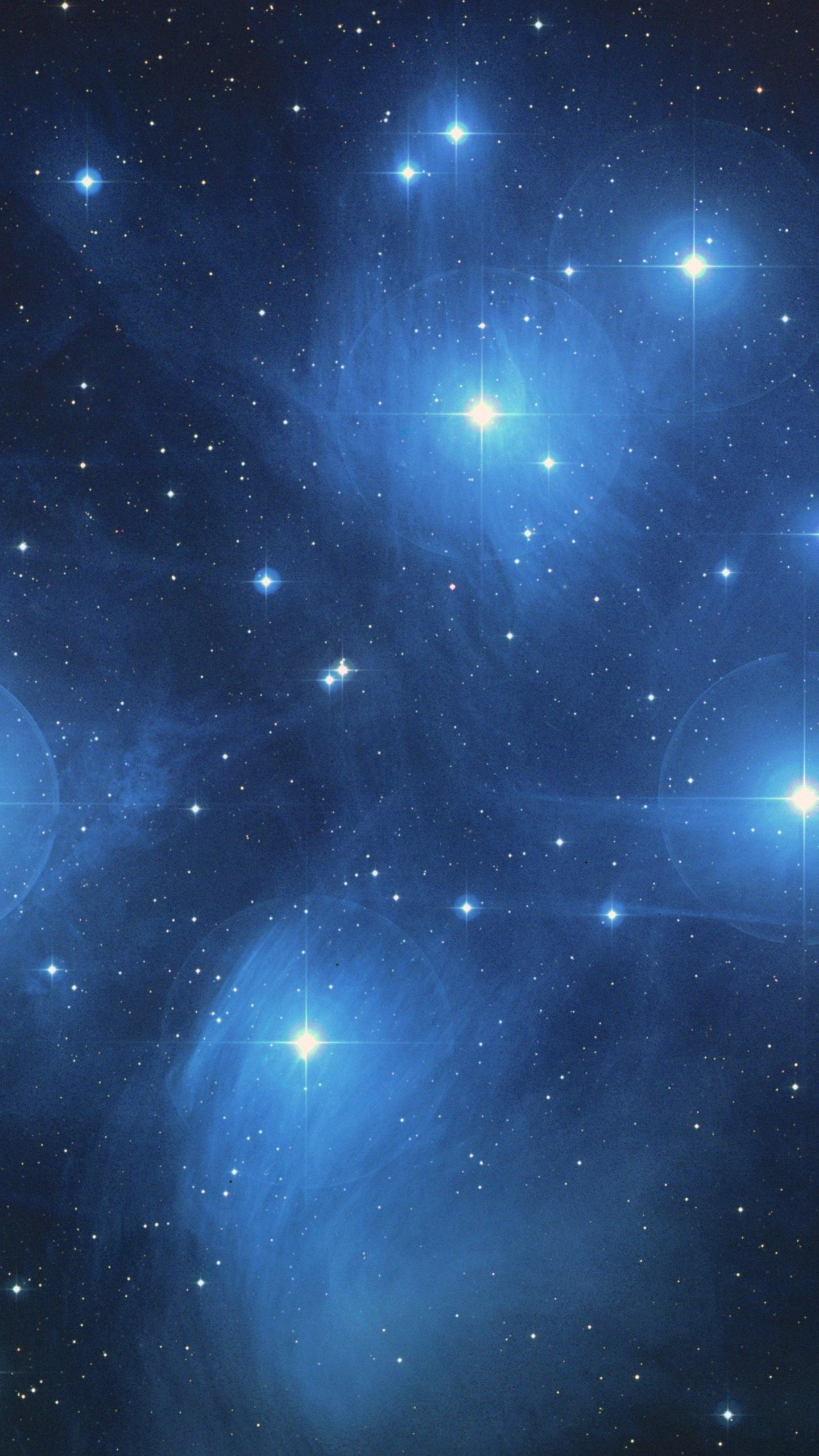 1440x2560 The Pleiades Star Cluster Wallpaper - iPhone, Android & Desktop Backgrounds
