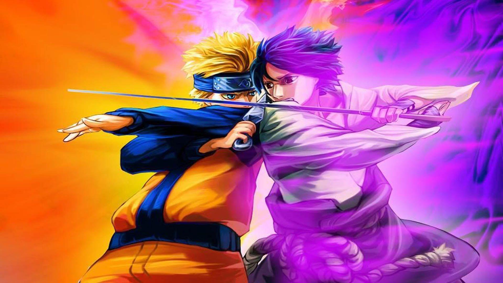 Naruto vs Sasuke Wallpaper (57+ images)