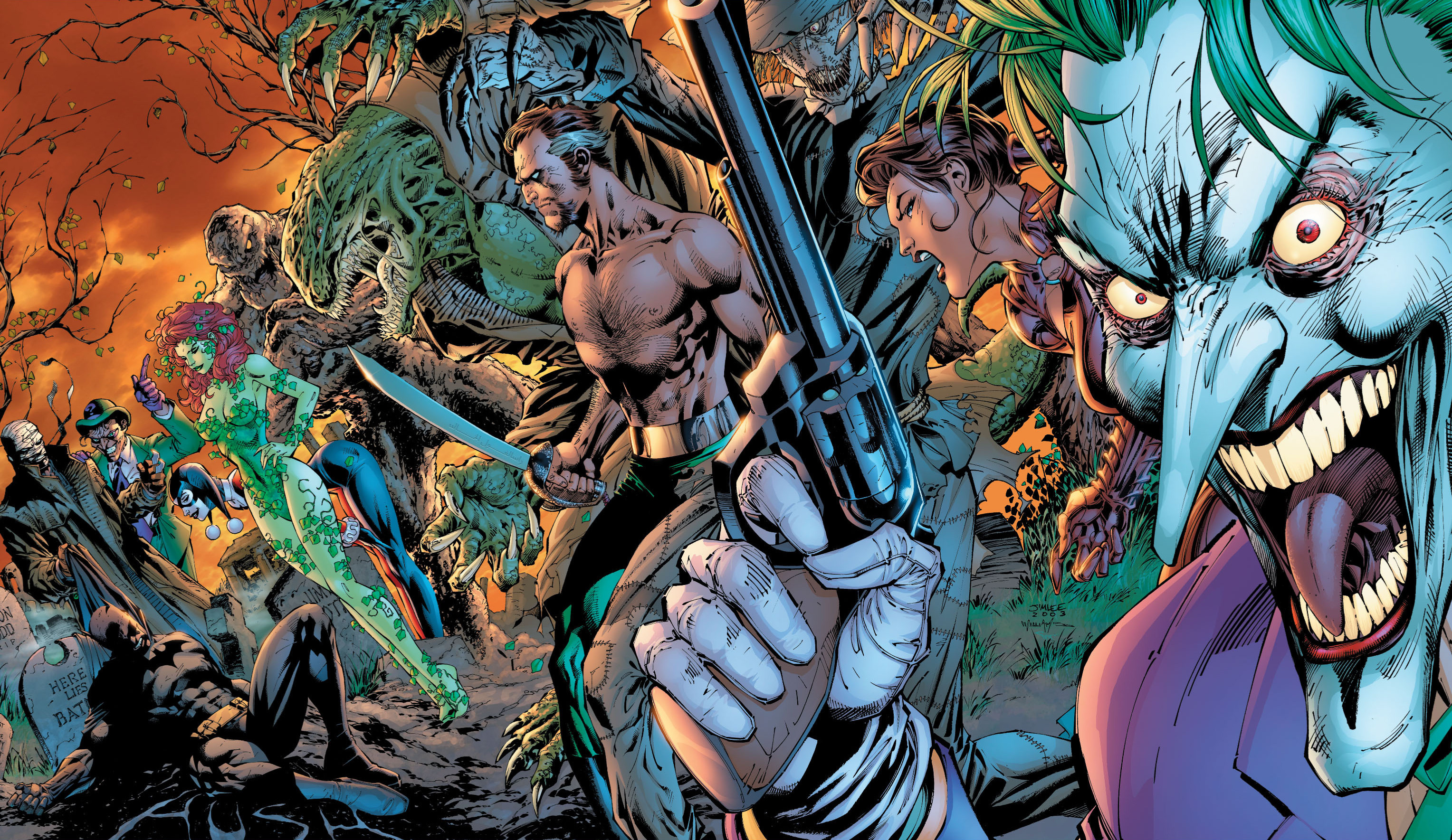 3056x1769 Batman: Hush