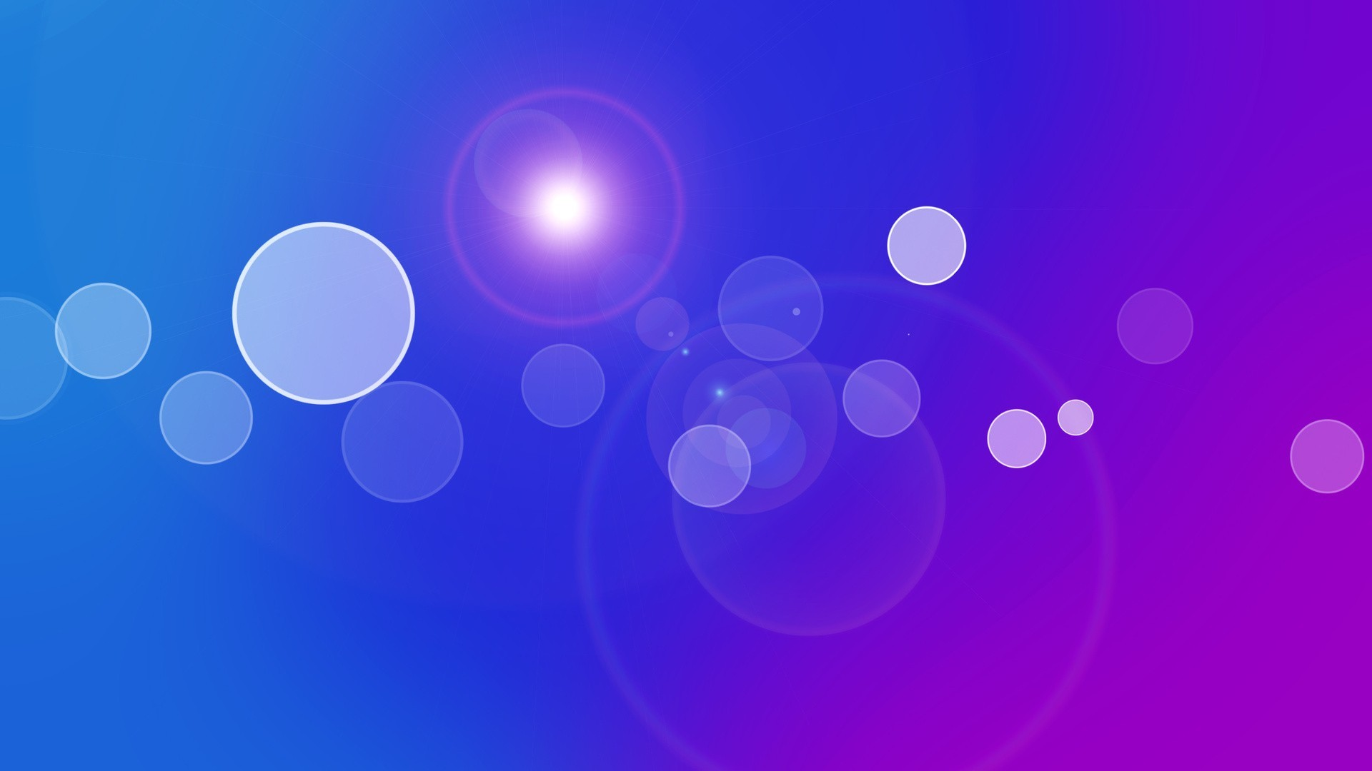 1920x1080 light abstract blue purple circles gradient colors wallpaper