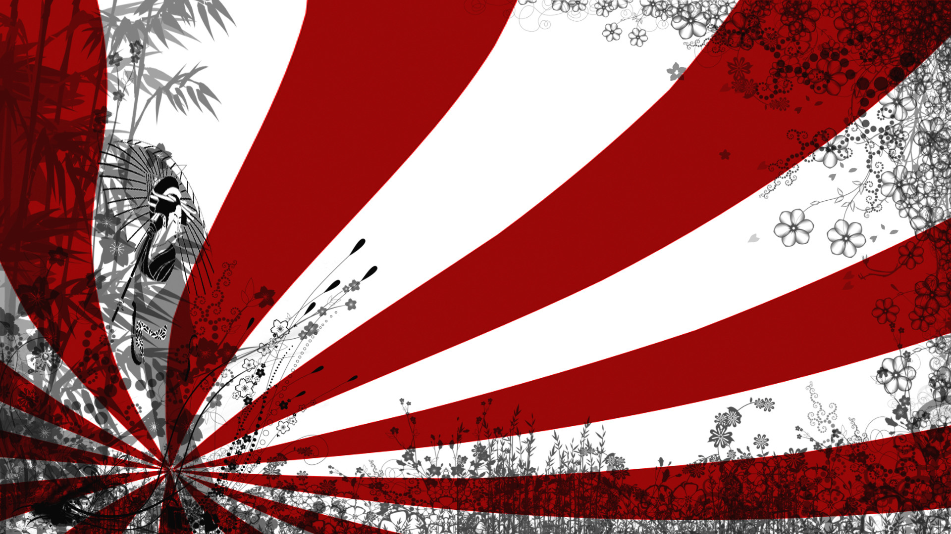 1920x1080 Japanese Flag Wallpaper Free Download