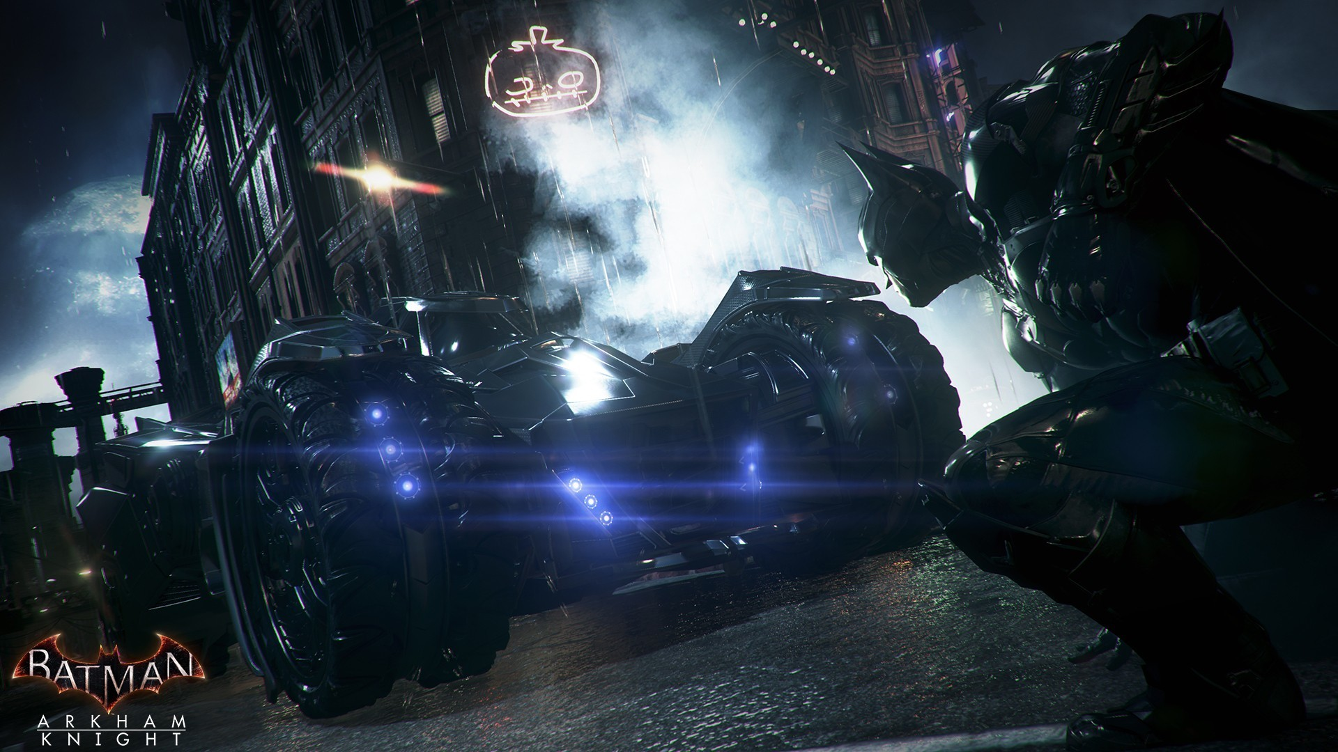 1920x1080 Batman Arkham Knight Backgrounds Free Download.