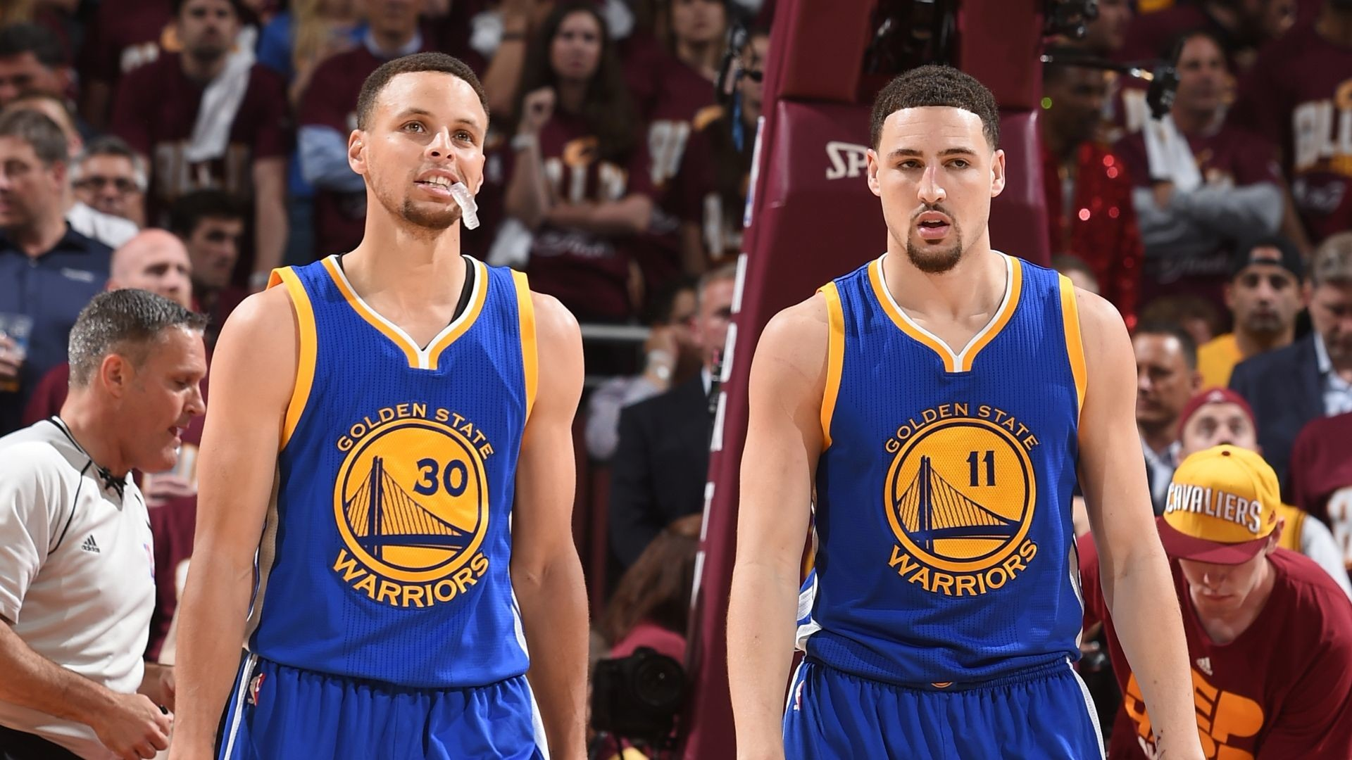 1920x1080 How Curry, Thompson became the 'Splash Brothers' ...