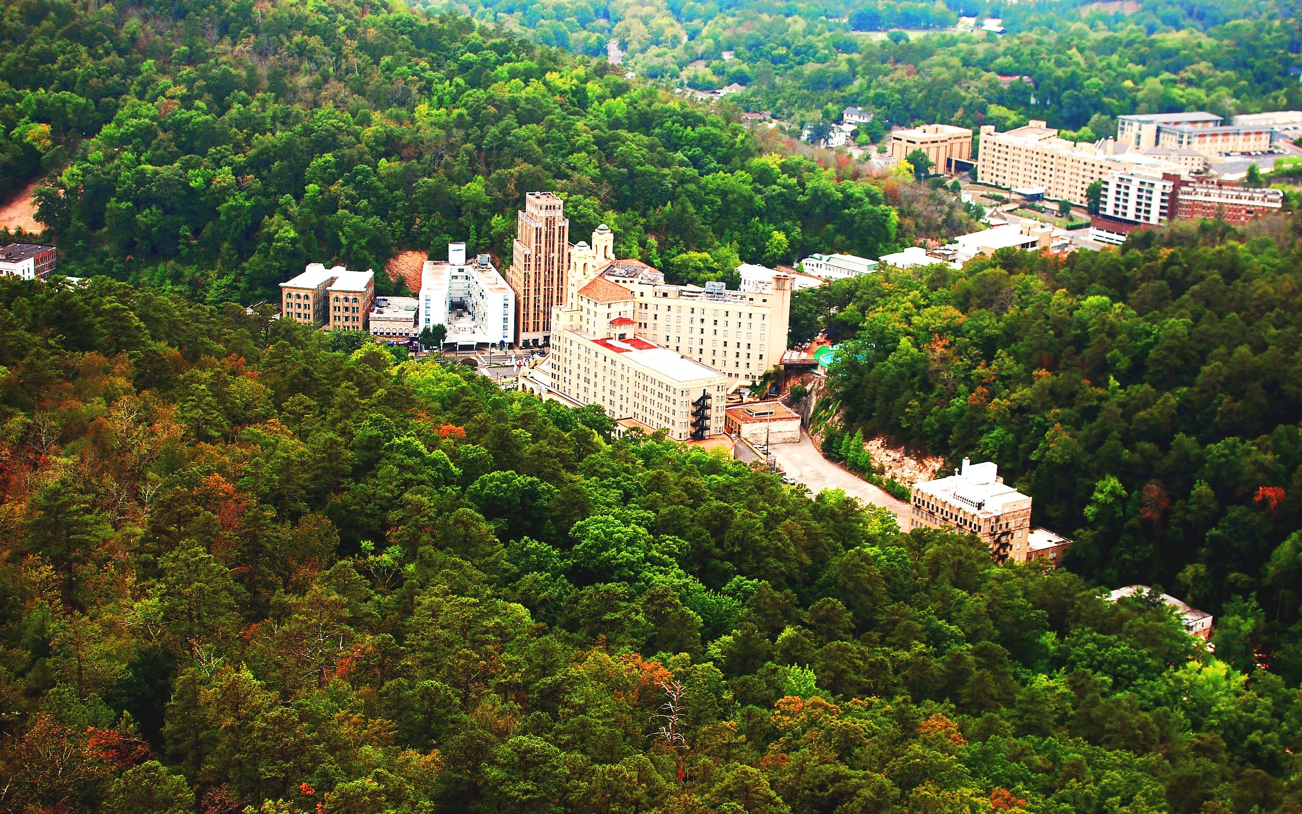 2560x1600 hot springs arkansas | Downtown Hot Springs, Arkansas Desktop Wallpapers  and Backgrounds