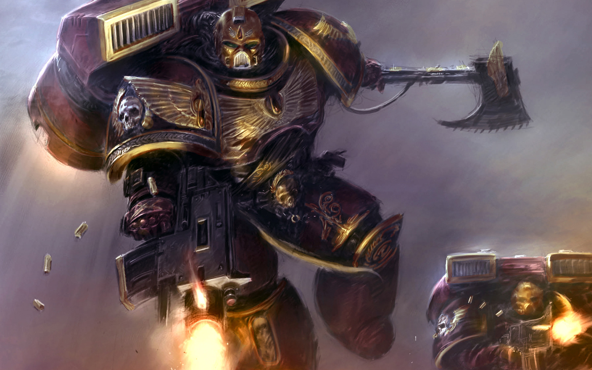 1920x1200 000 Blood Angels Bolter Science Fiction Space Marines Video Games Warhammer  40 40k