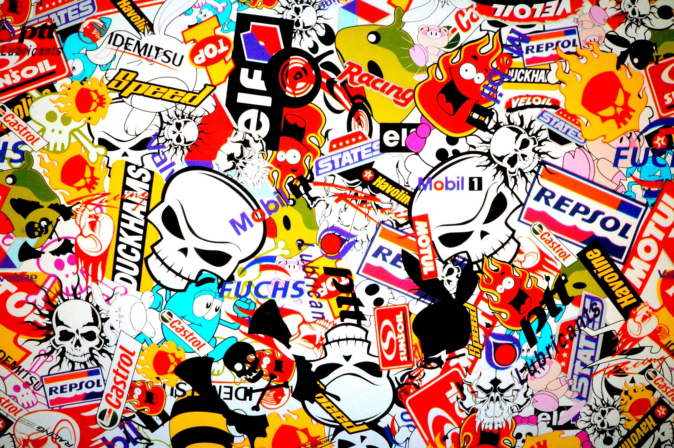 2285x1519 wallpaper images sticker bomb - sticker bomb category