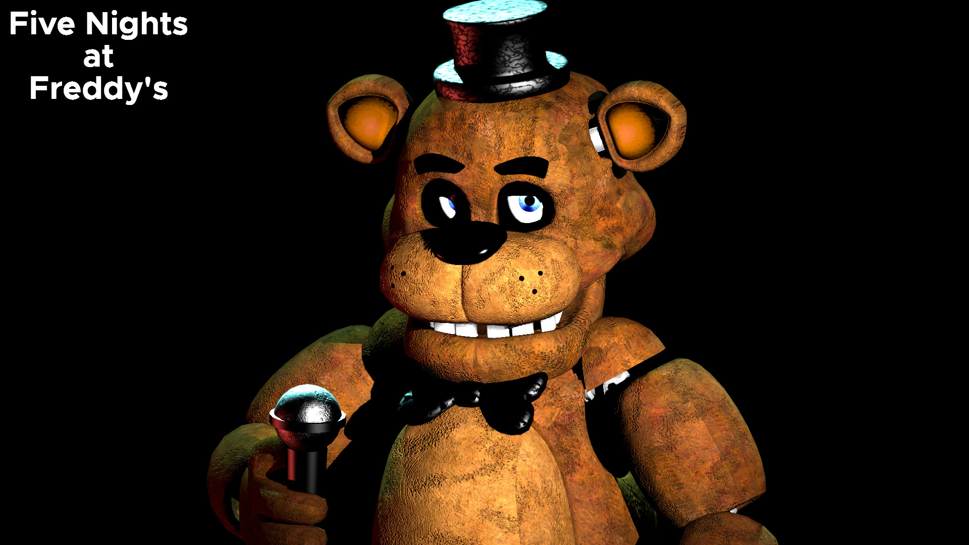 1920x1080 RenderWallpaper preview (Full will be shown on FNaF 1's Bday) ...