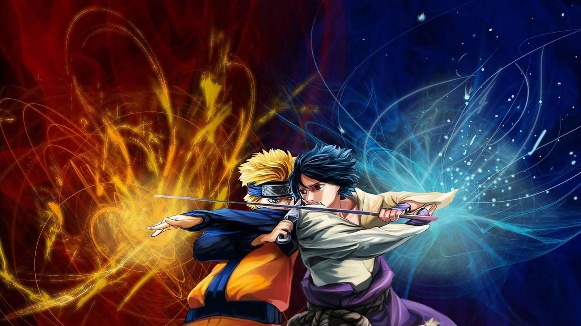 1920x1080 Naruto Vs Sasuke Naruto Anime Wallpaper #3275 | Hdwidescreens.