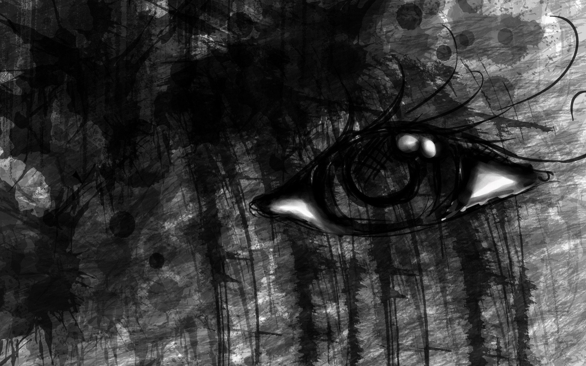 1920x1200 background eyes, eye, backgrounds, artwork, emo, high definiton, evil,  backgrounds,gothic Wallpaper HD