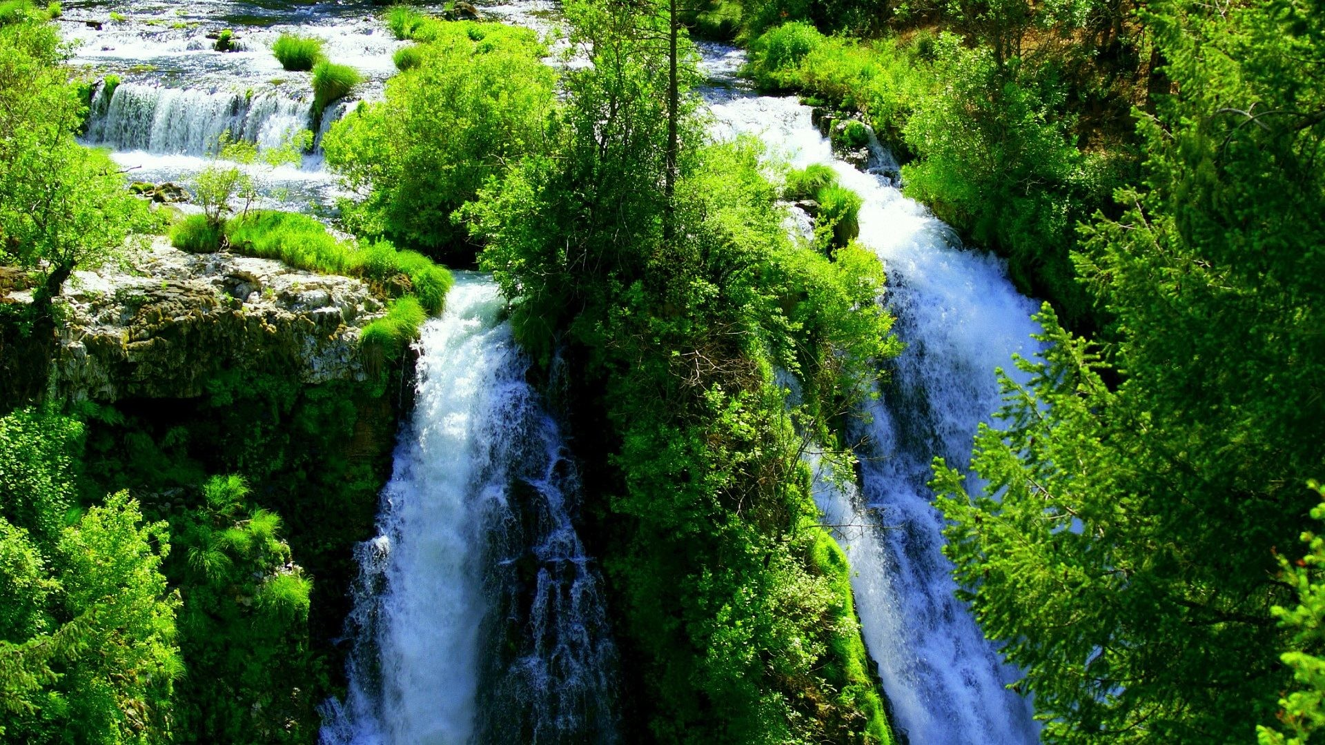 1920x1080 Waterfalls Water Magnificent Nature Waterfall Watercourse Desktop  Backgrounds Free Detail