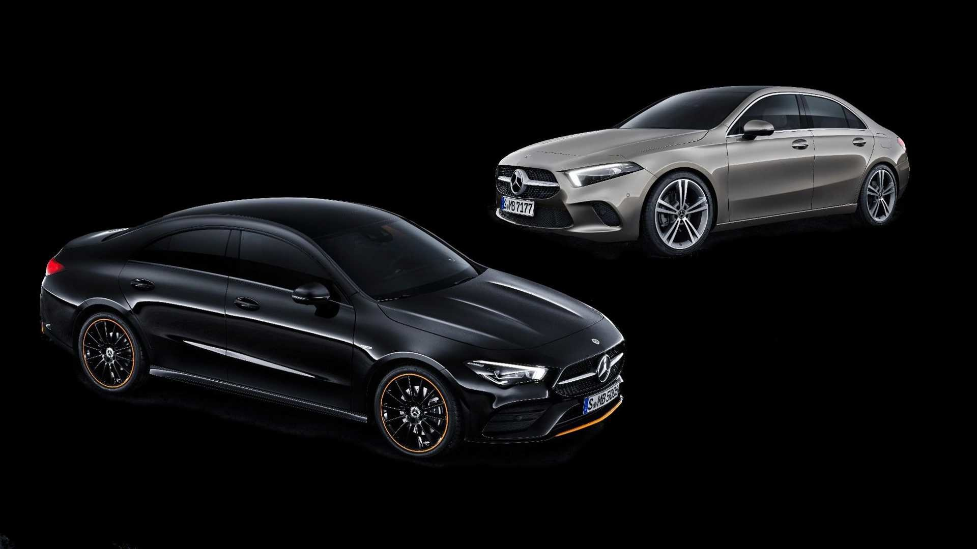 1920x1080 Mercedes Benz A Class Sedan Vs Cla See The Changes