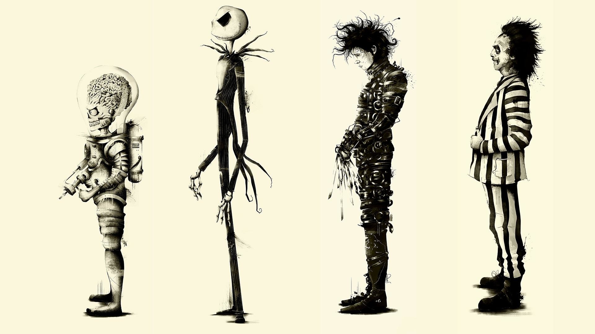 1920x1080 Movies The Nightmare Before Christmas Wallpapers Hd Desktop And