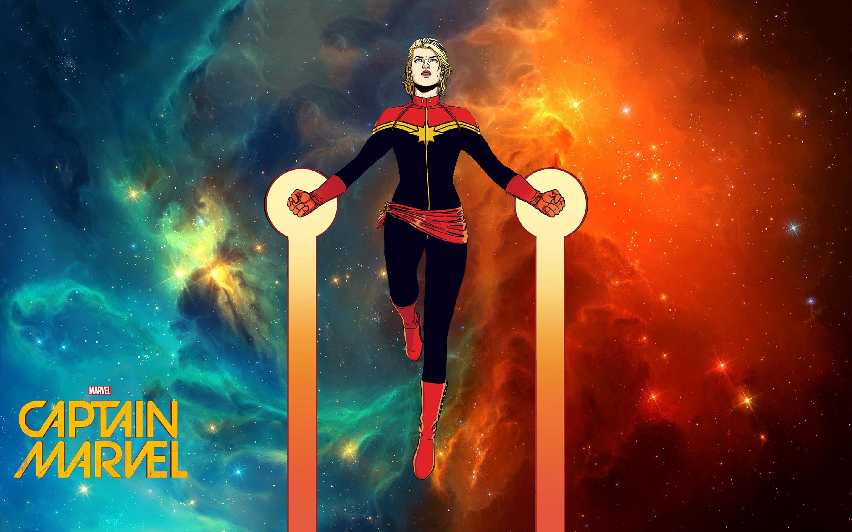 Captain Marvel Wallpaper 60 Images