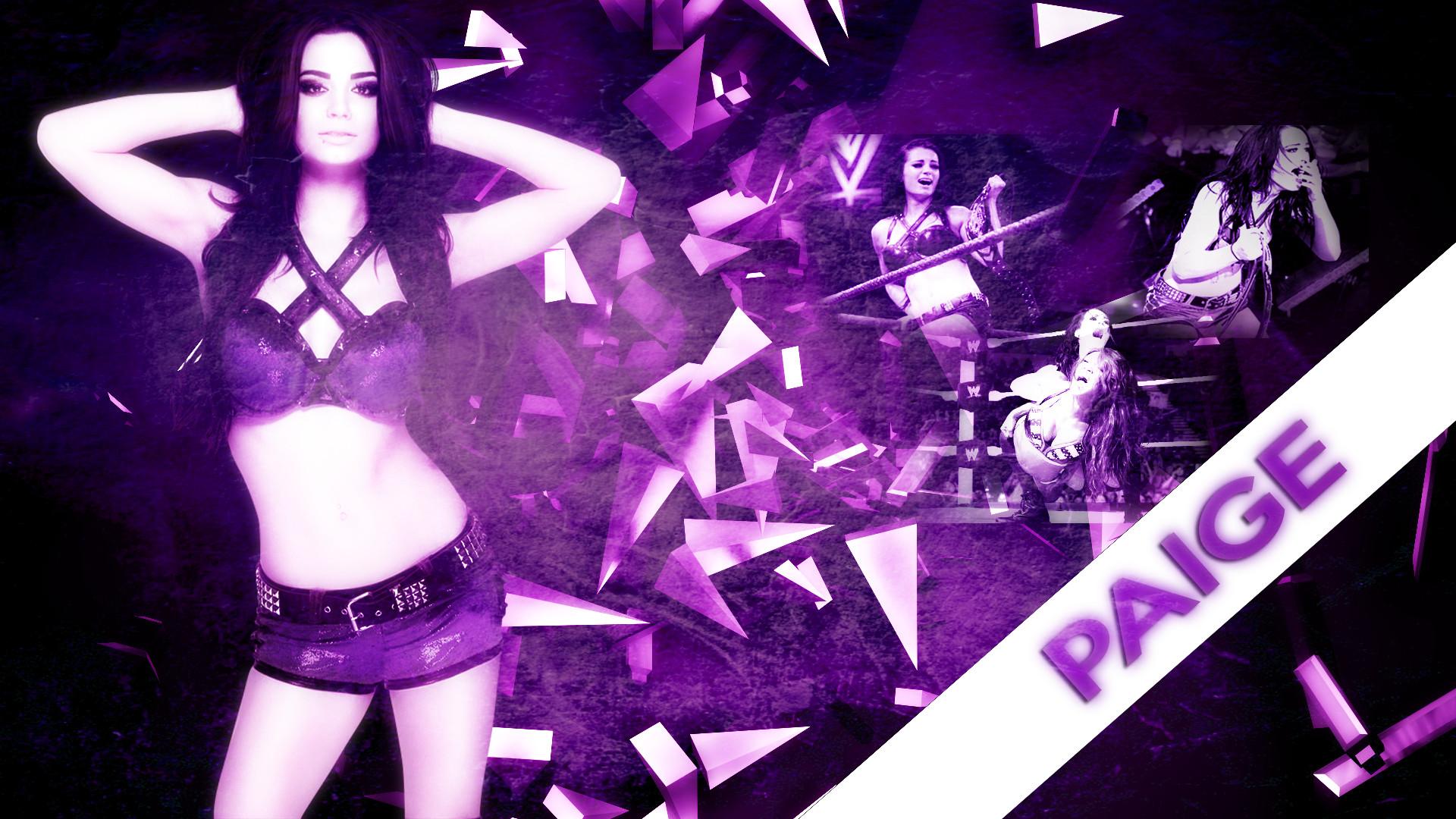 Paige WWE photos