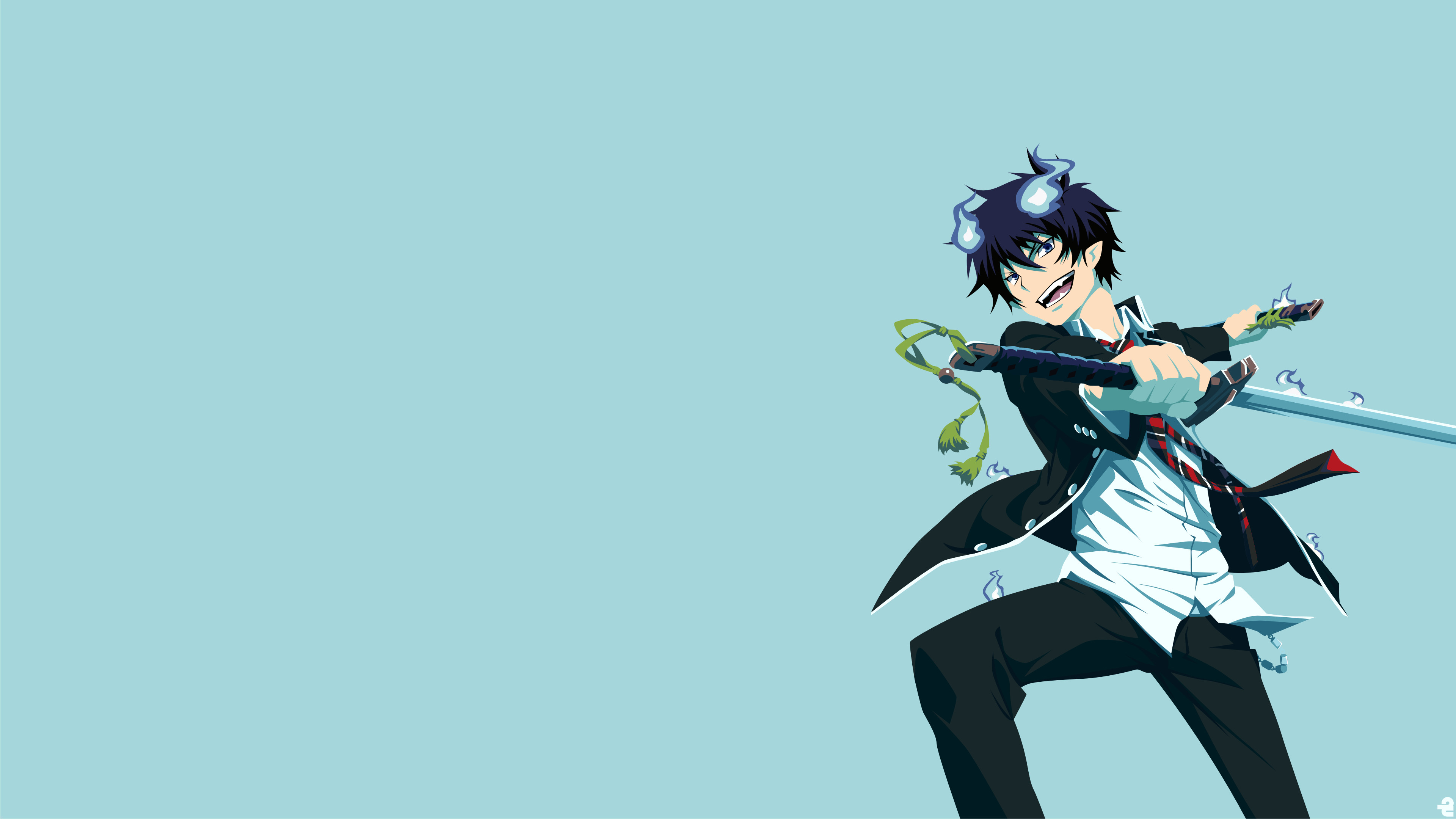 Blue exorcist wallpaper 67 images - Blue anime wallpaper ...