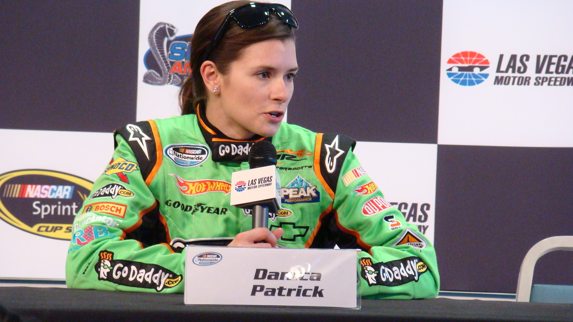 1920x1080 Patrick will be driving the GoDaddy.com Chevrolet from JR Motorsports