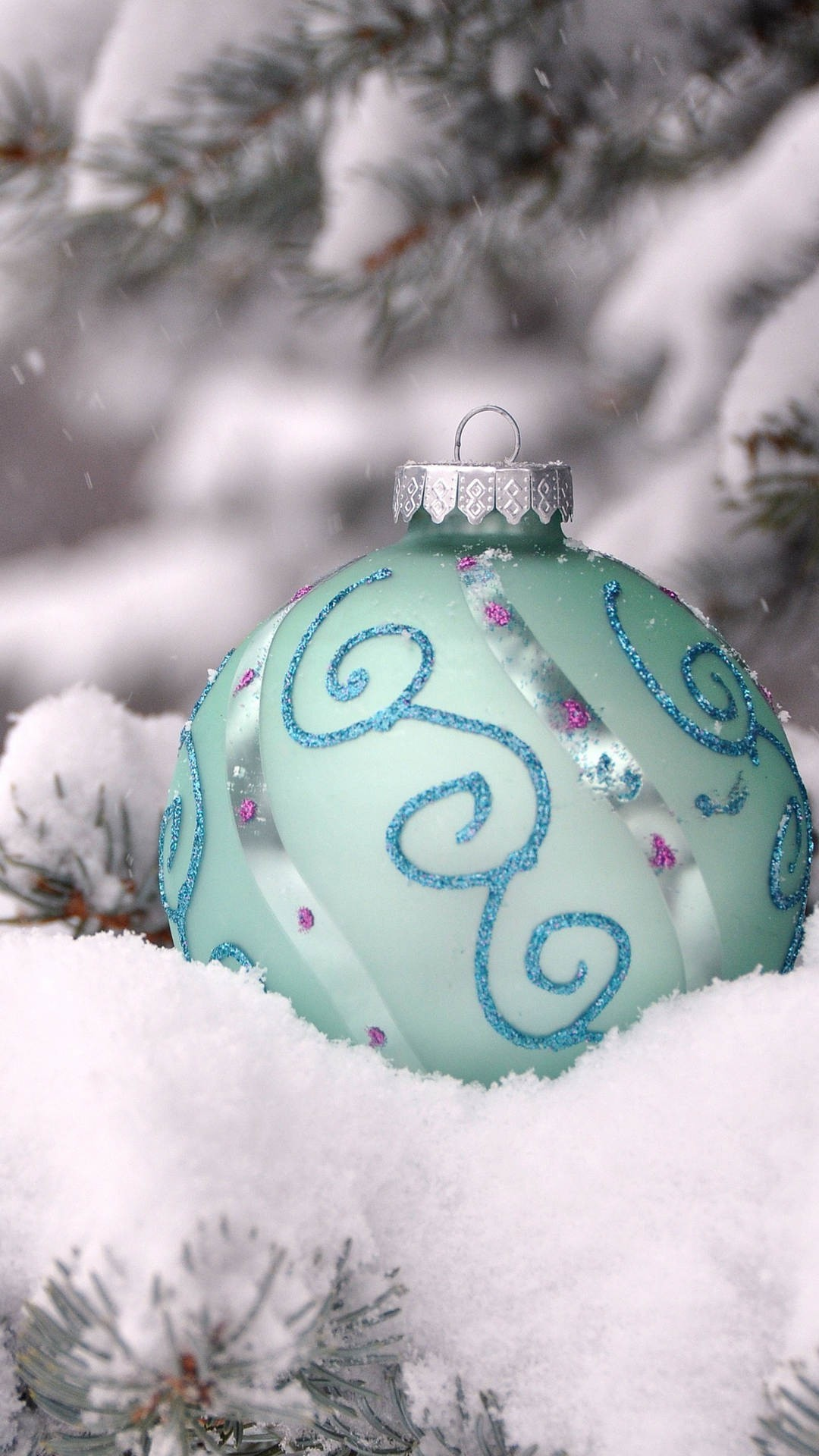 Christmas Tree Snow Wallpaper (73+ images)