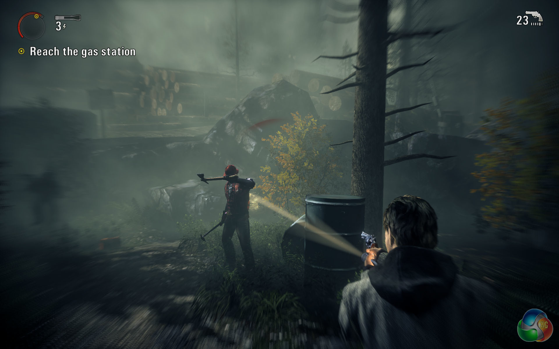 1920x1200 ... VIDEO GAME REVIEW: Alan Wake's American Nightmare - Horror Movie .
