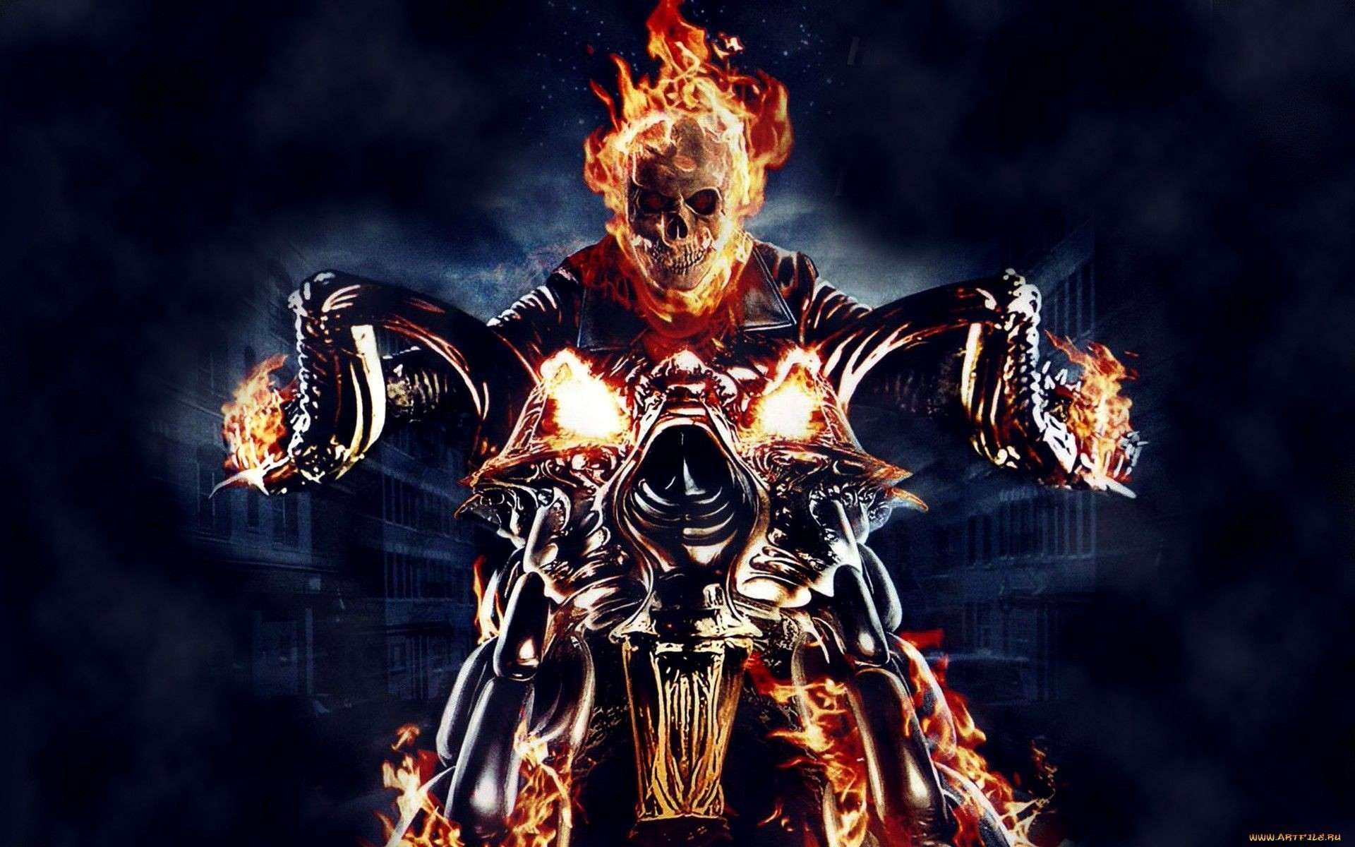 1920x1200 Gallery for - ghost rider wallpapers desktop