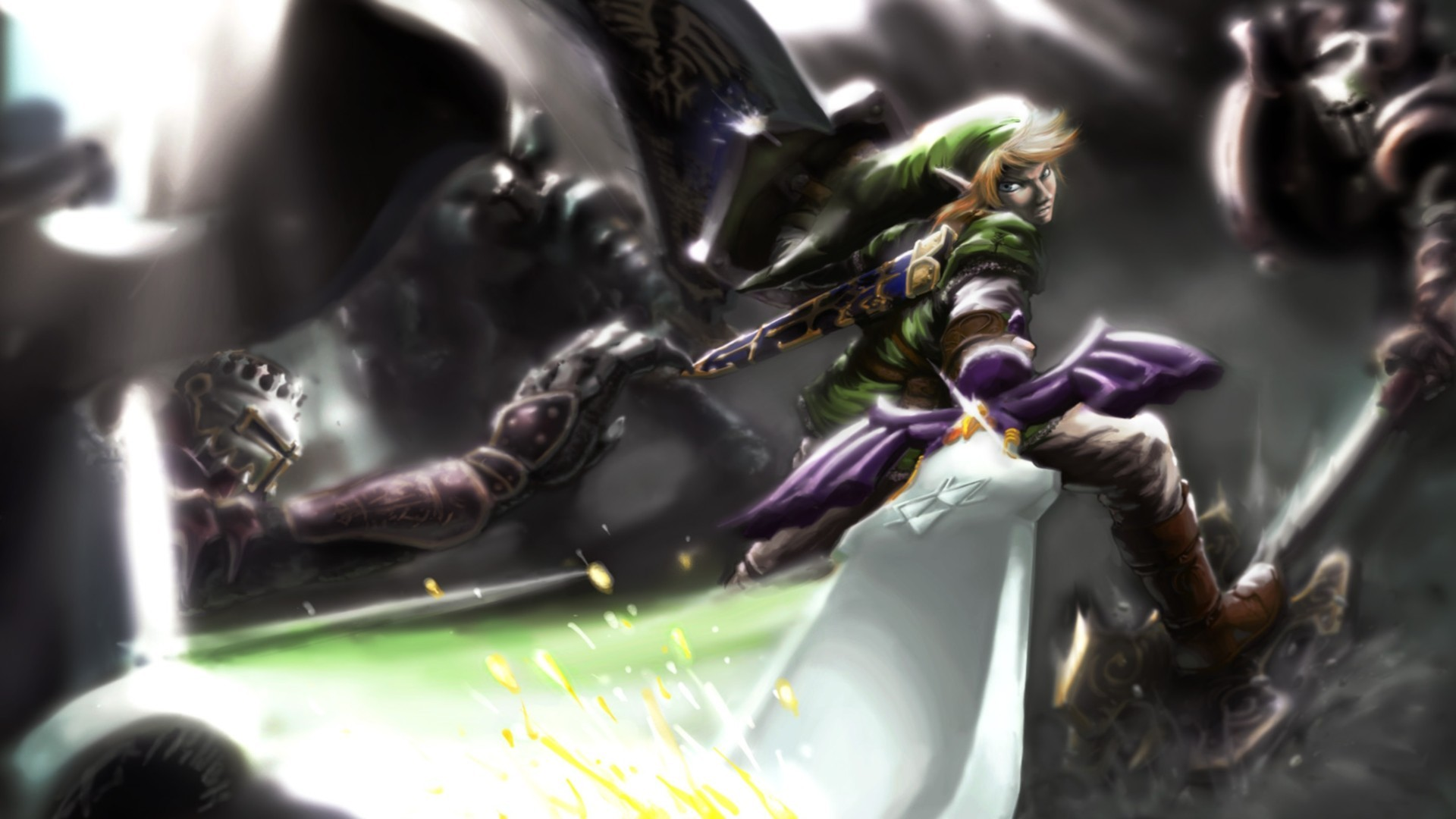 1920x1080 The Legend of Zelda · master sword