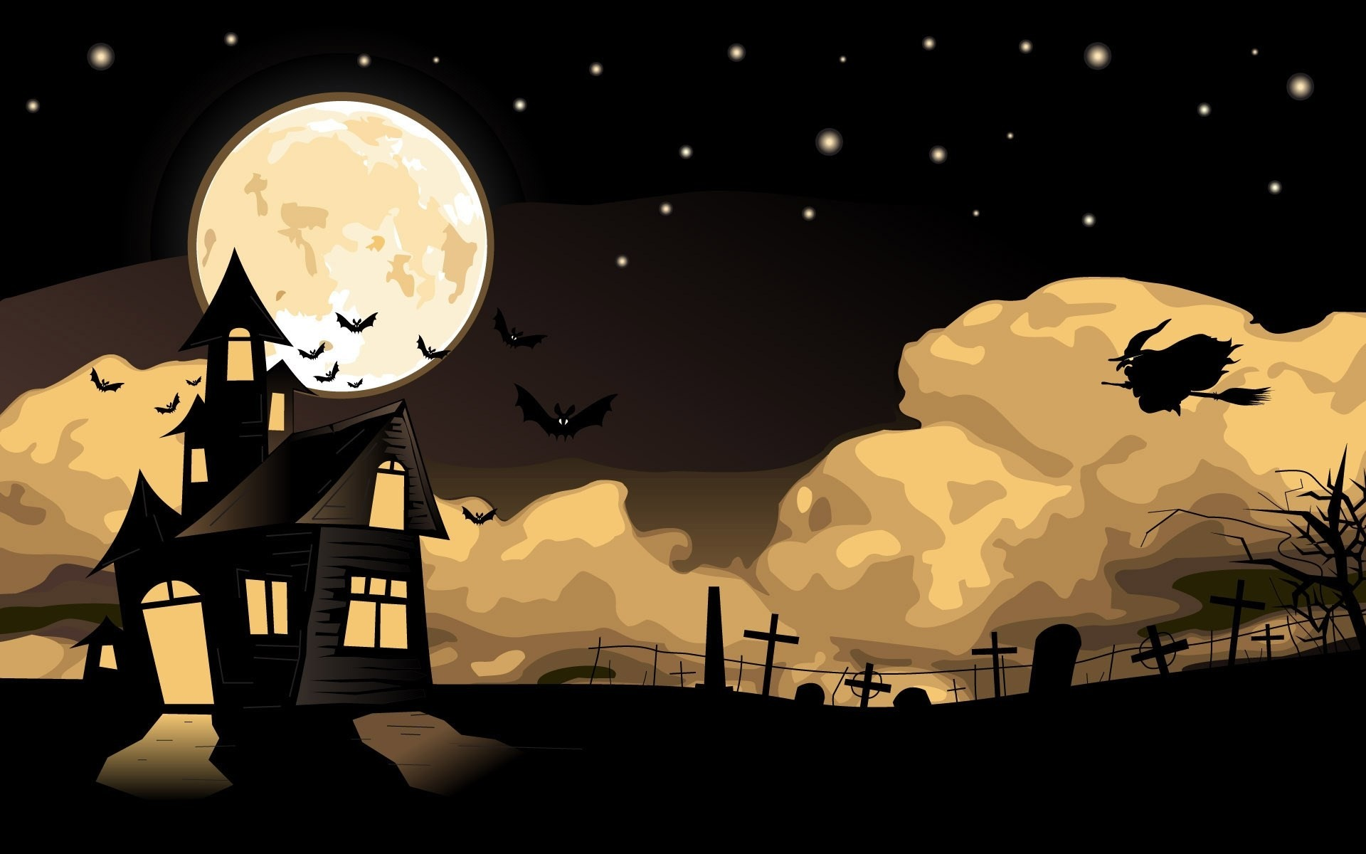 Halloween Witch Wallpapers