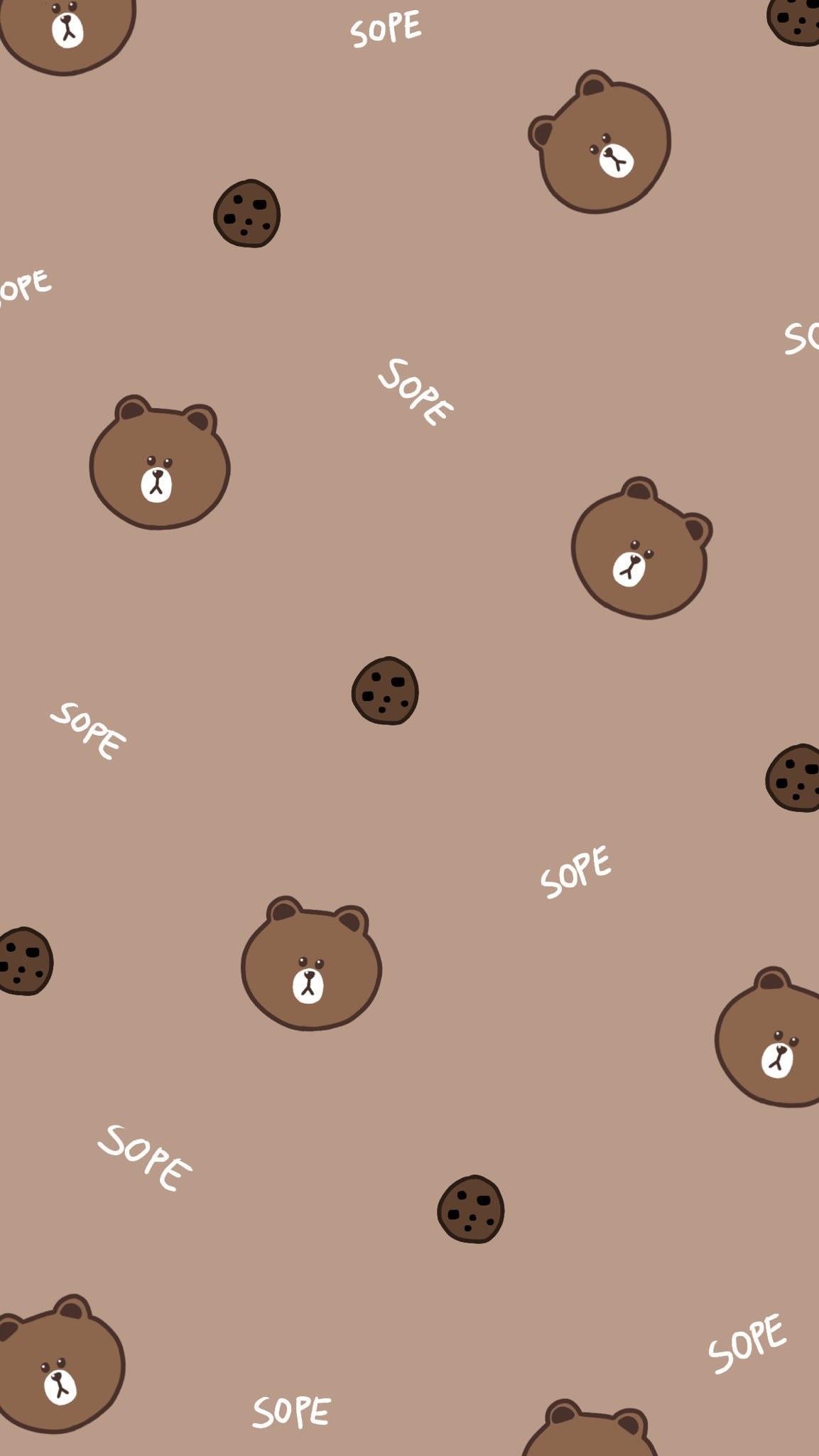 cute bear wallpaper (56+ images)
