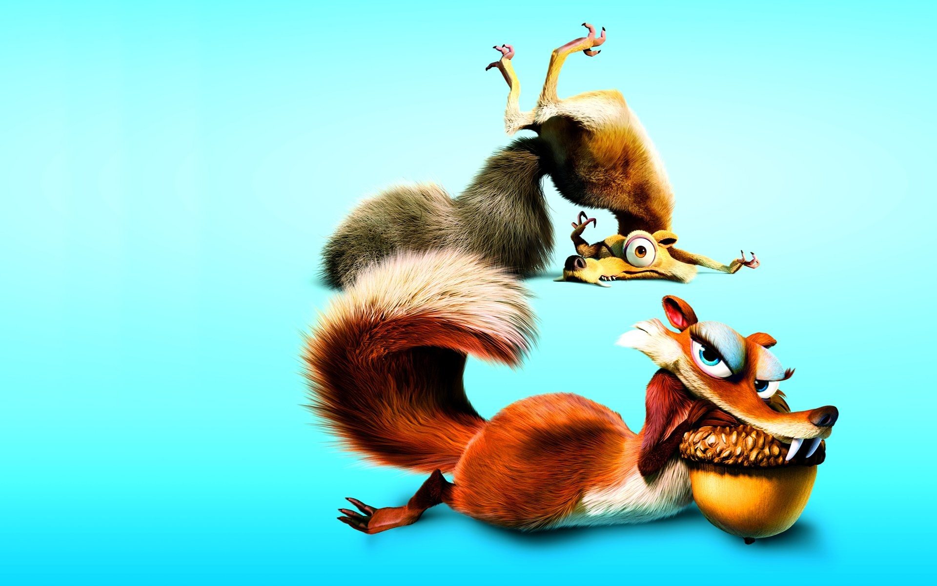 1920x1200 Movie - Ice Age: Dawn of the Dinosaurs Ice Age Scrat (Ice Age)