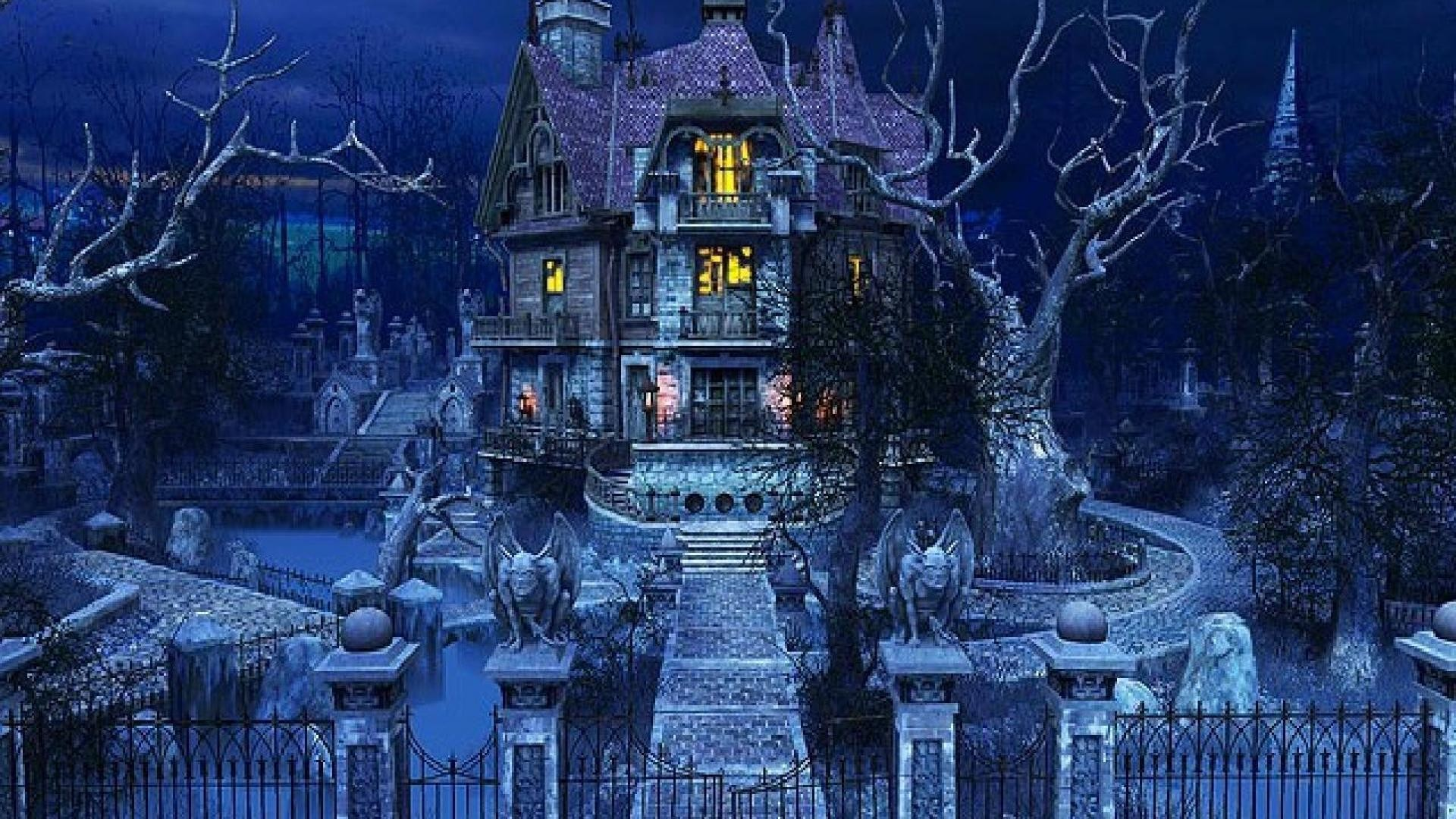 1920x1080 haunted mansion wallpaper 61322 HQ Desktop Wallpapers