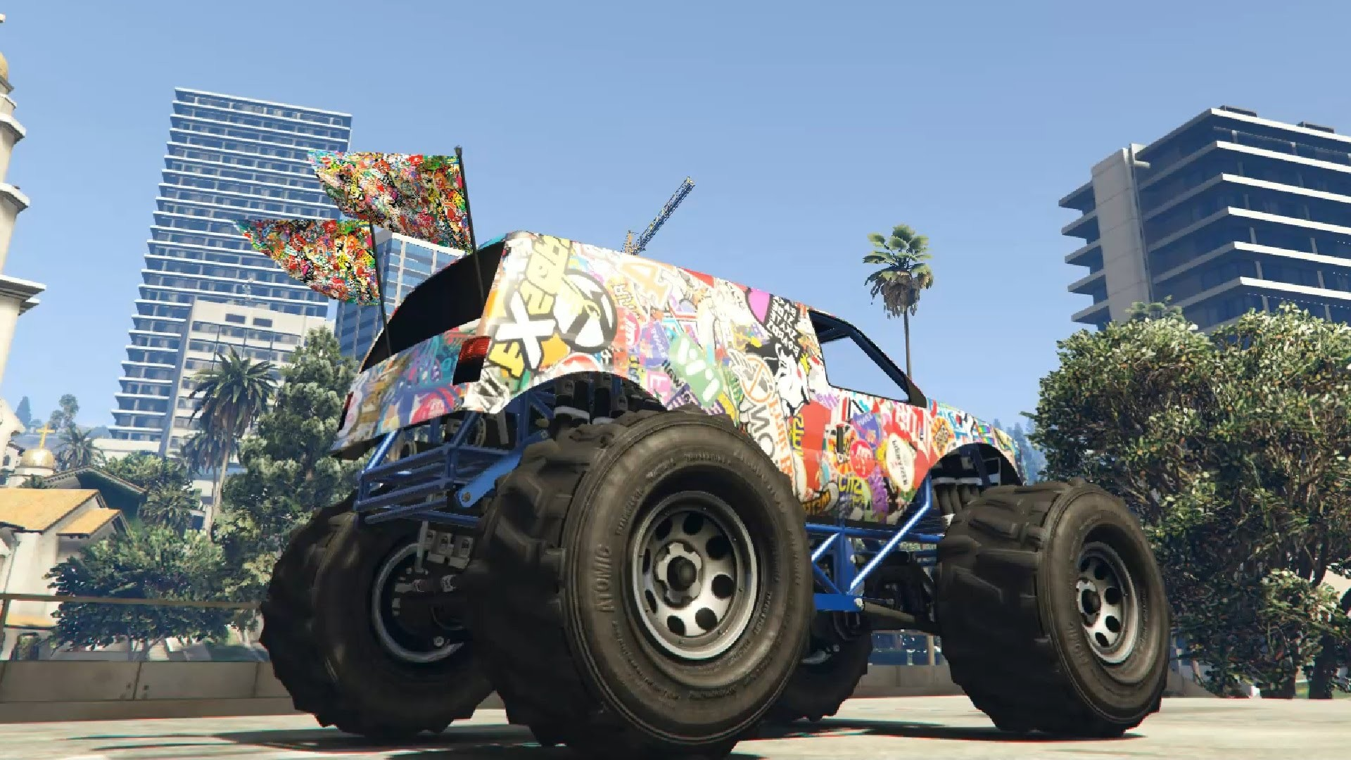 1920x1080 GTA V - Sticker Bomb Liberator 2 0f HD Update